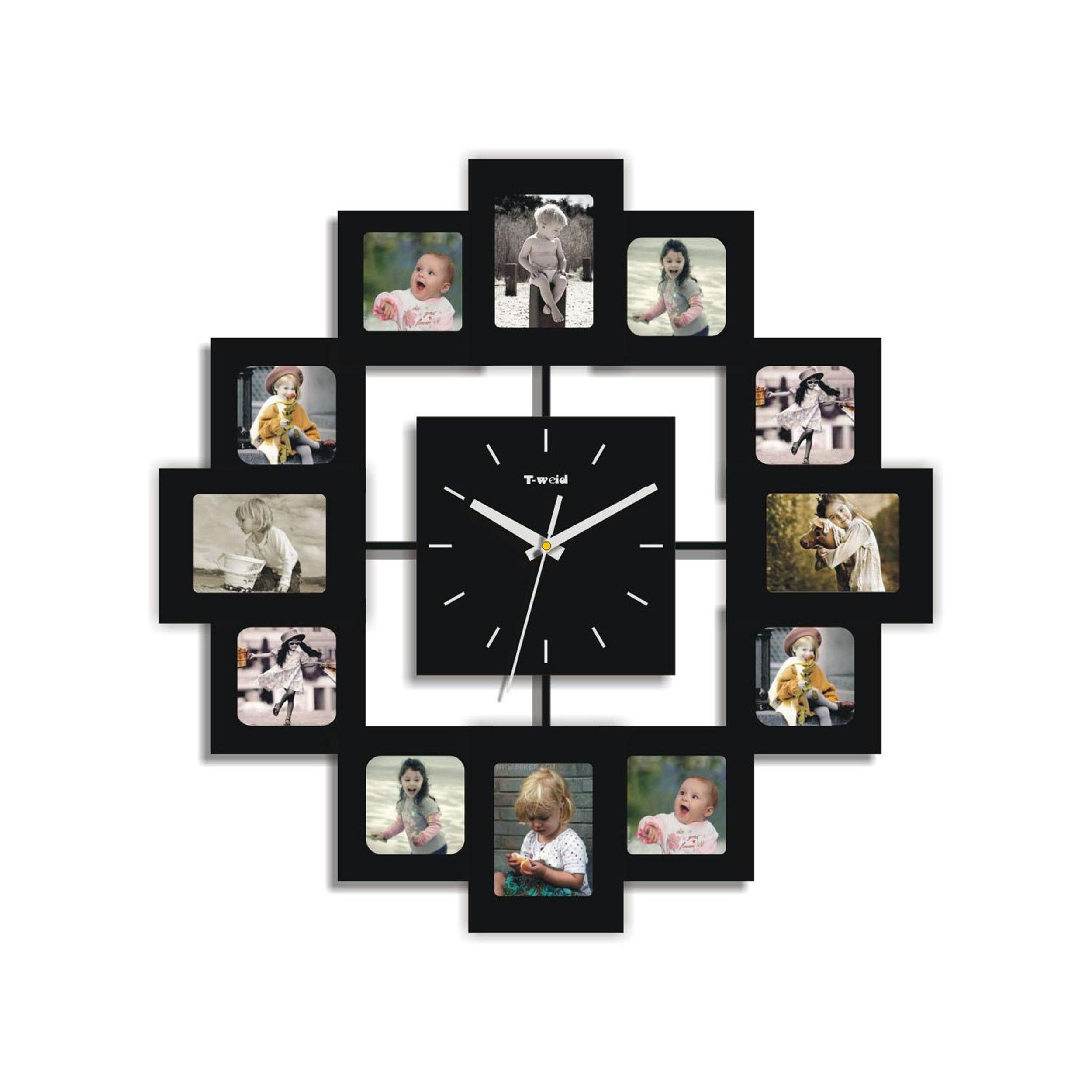 creative motion picture frame wall clock