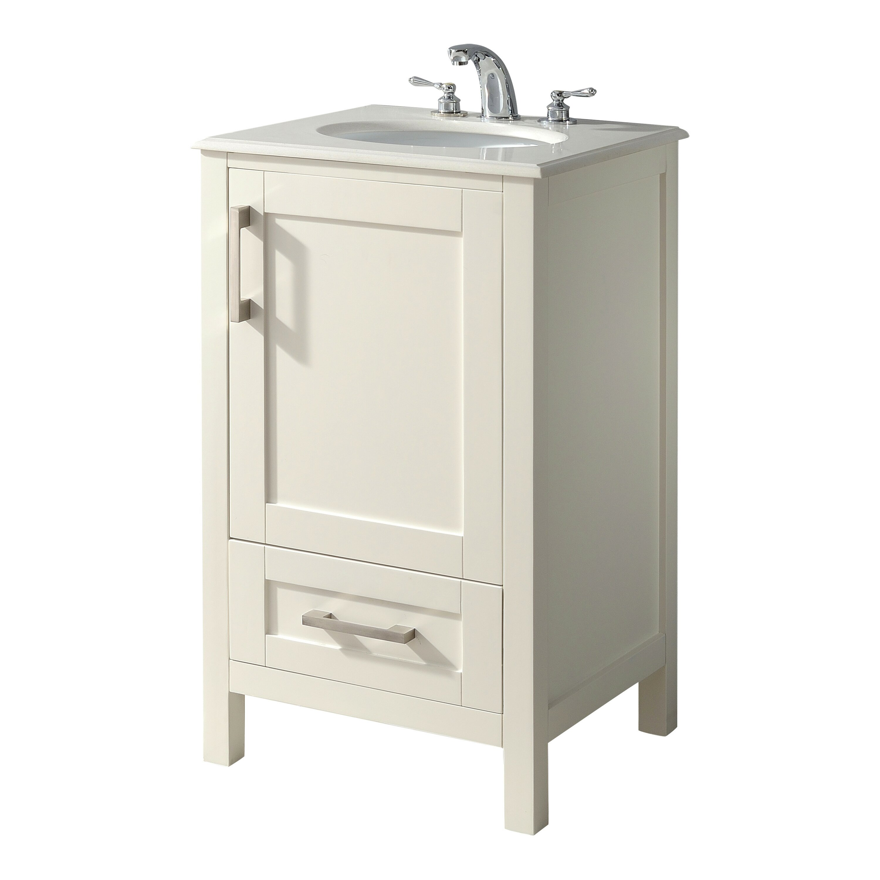 20 Vanity Cabinet Simpli Home Westbridge 20 Single Bathroom Vanity Set Reviews