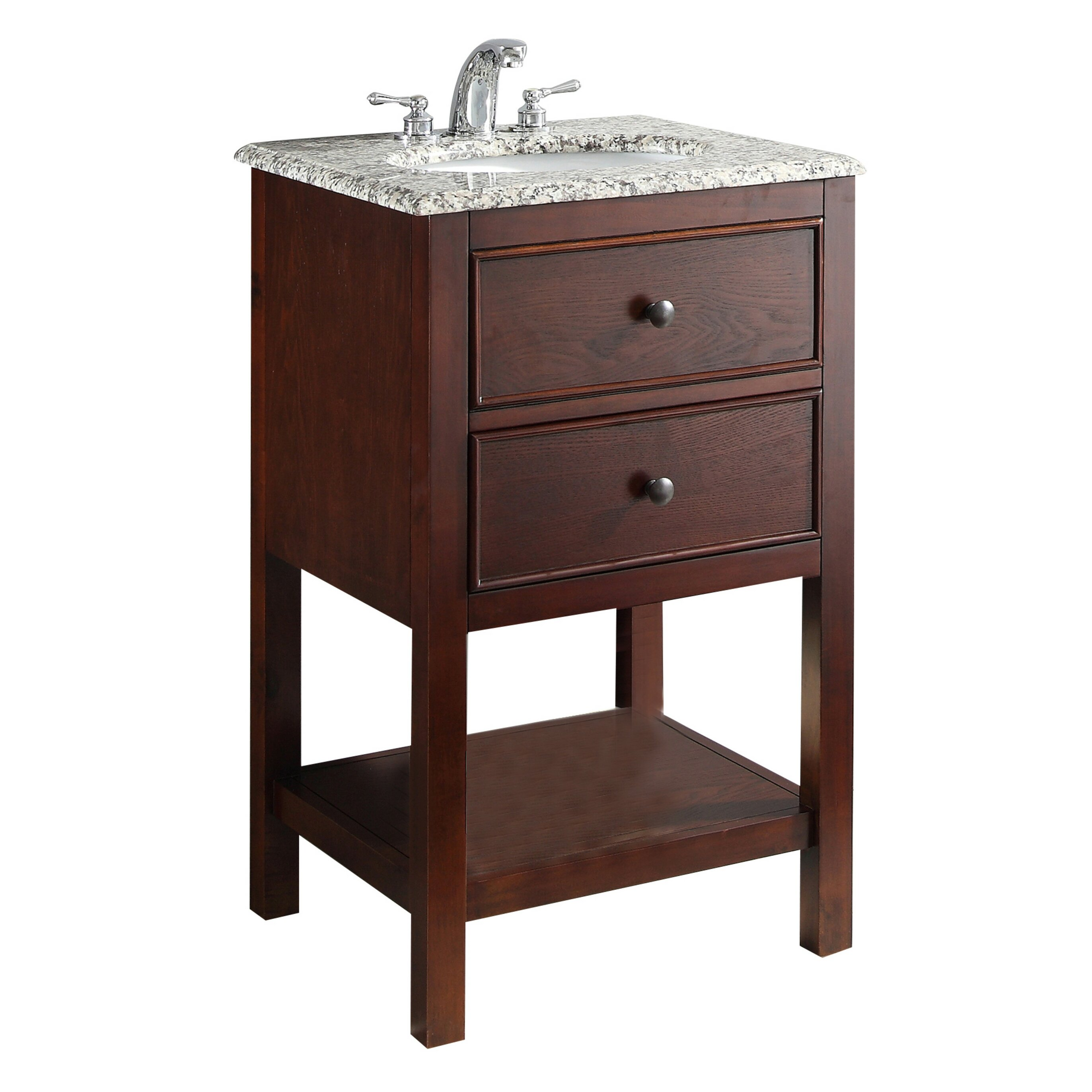 Simpli Home Burnaby 21 amp quot  Single Bathroom Vanity Set. Simpli Home Burnaby 21 quot  Single Bathroom Vanity Set  amp  Reviews   Wayfair