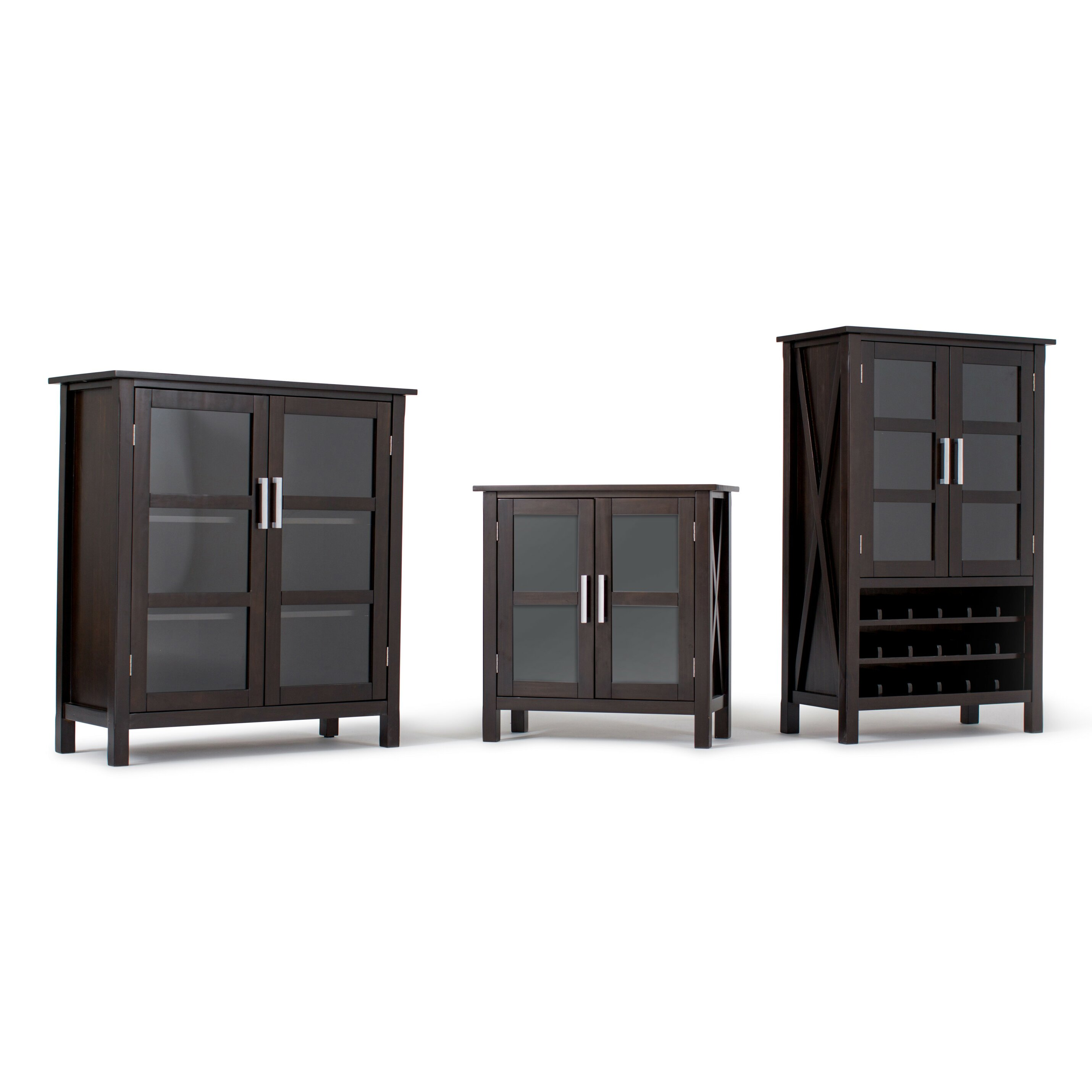 International Furniture Kitchener Simpli Home Kitchener Medium Storage Cabinet Reviews Wayfair