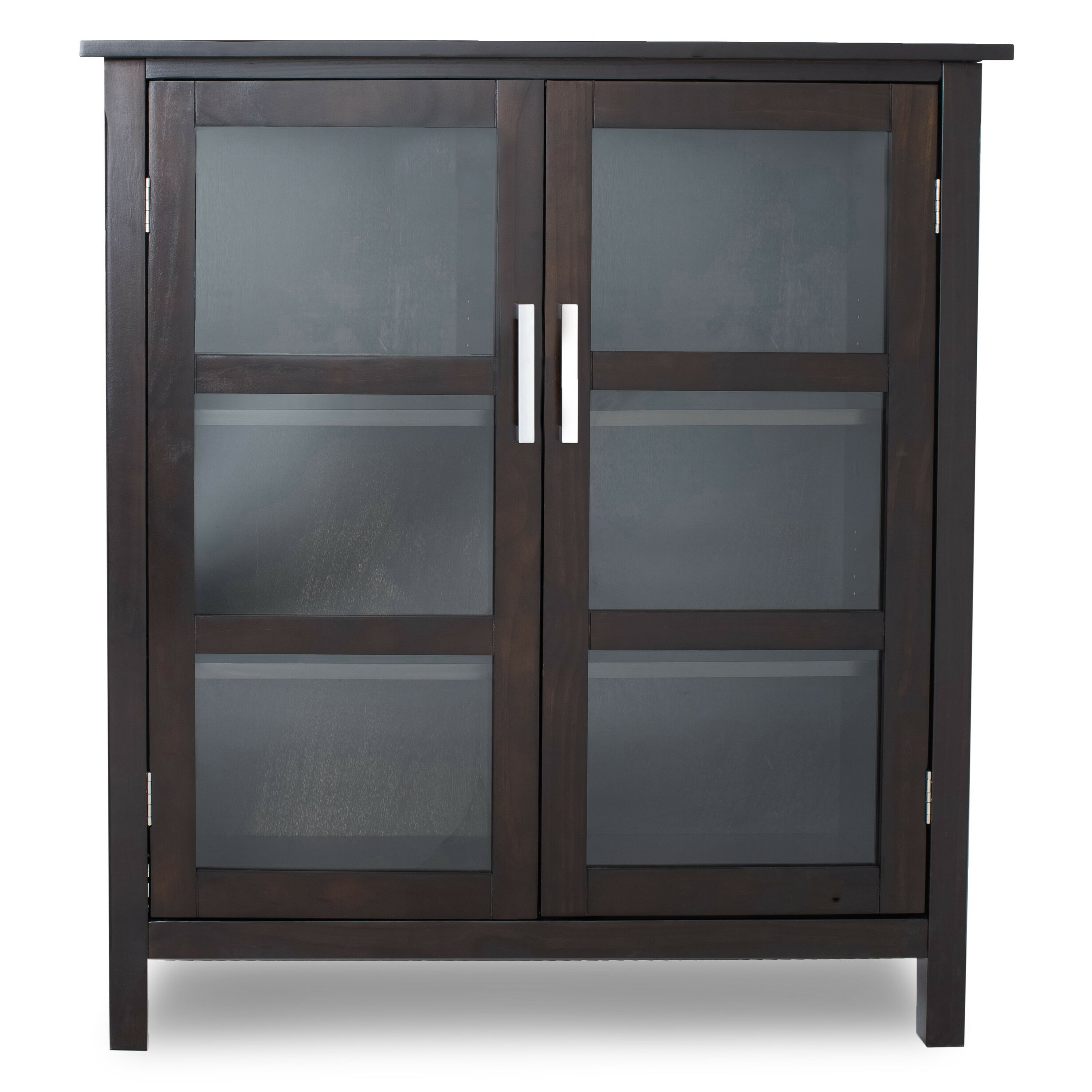 Furniture In Kitchener Simpli Home Kitchener Medium Storage Cabinet Reviews Wayfair