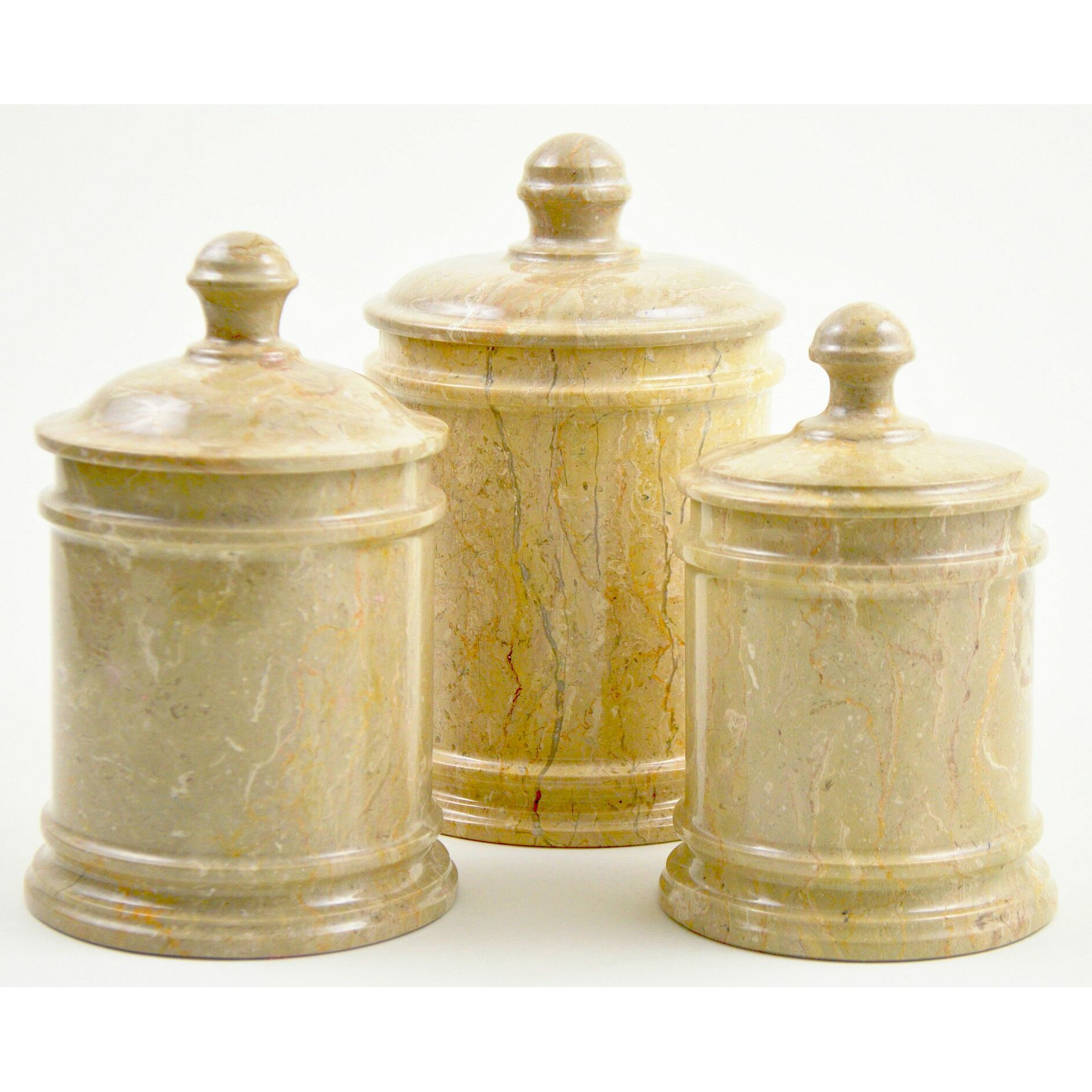 decorative canister sets kitchen nature home decor sahara kitchen canister reviews wayfair 6615