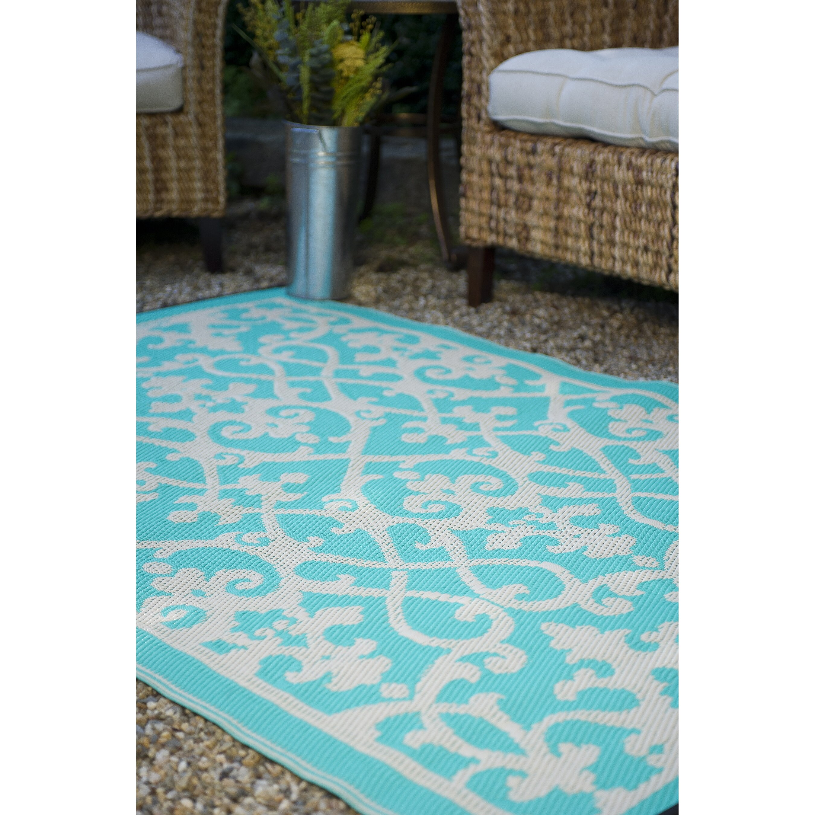 Turquoise And Brown Rug: Turquoise Brown Rug