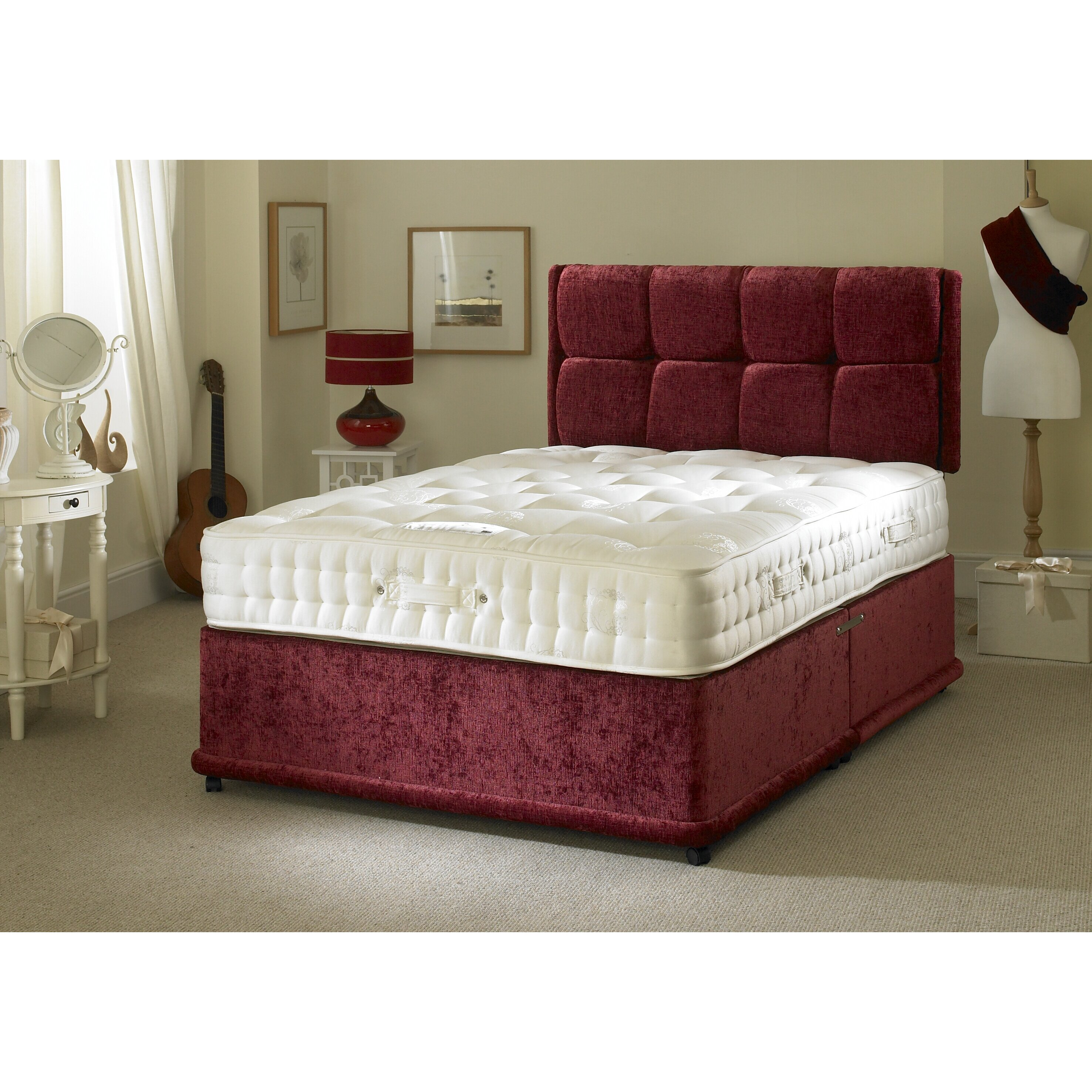 Bedmaster signature gold divan bed reviews for Bed master