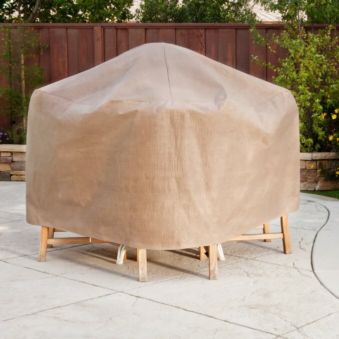 Duck Covers Elite Square Patio Table & Chair Set Cover - Duck Covers Elite Square Patio Table & Chair Set Cover & Reviews