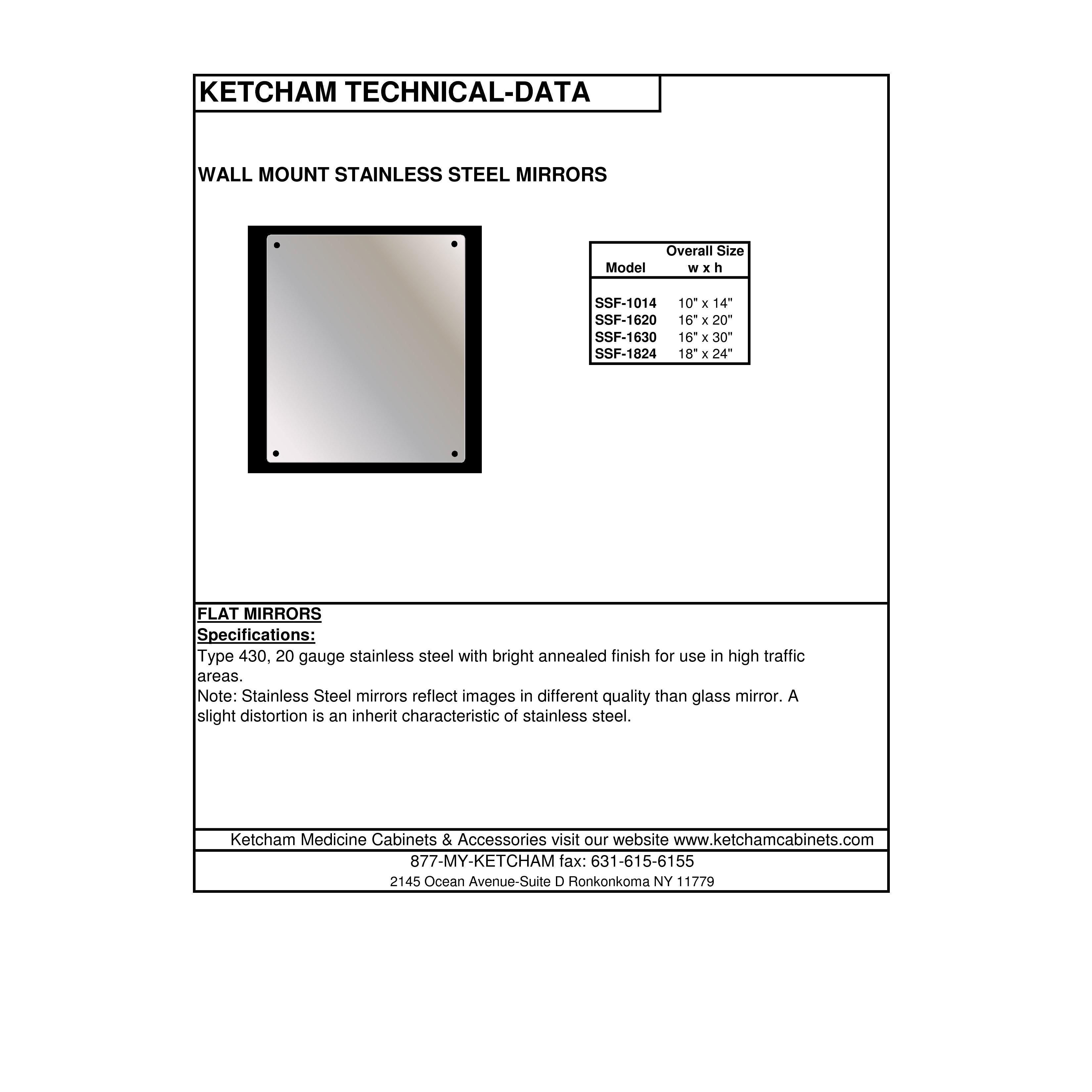 18 X 24 Medicine Cabinet Ketcham Medicine Cabinets Stainless Steel Mirror Reviews Wayfair