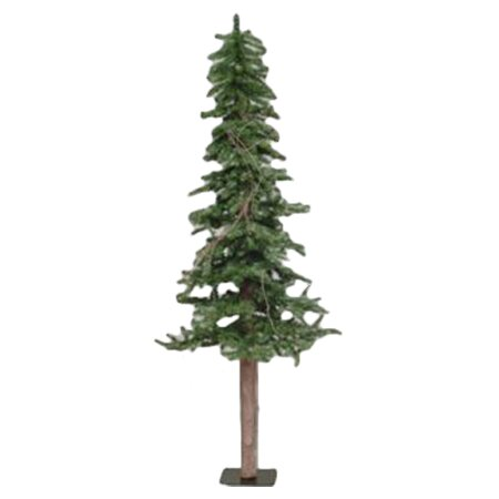 Alpine Tree 6 39 Green Pine Artificial Christmas Tree With