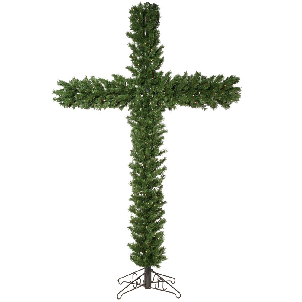 Vickerman 7 5 39 Green Artificial Christmas Tree With 250
