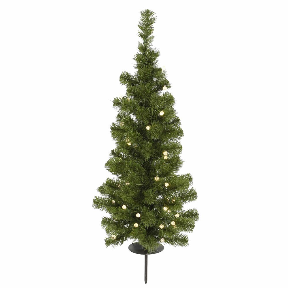 Vickerman Solar 3 39 Green Artificial Christmas Tree With 30