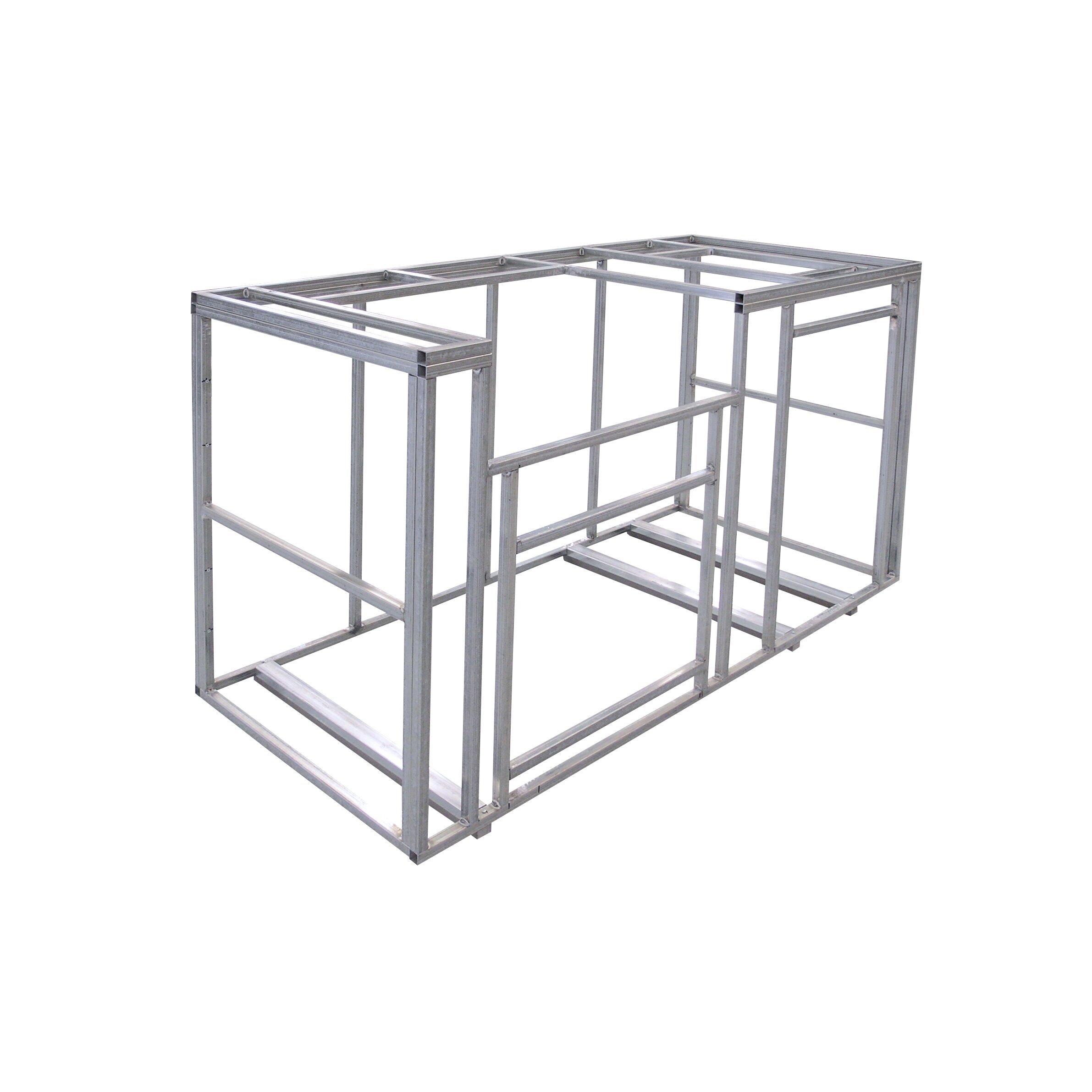 Outdoor Kitchen Frames Kits Calflame 6 Ft Outdoor Kitchen Island Frame Kit Wayfair