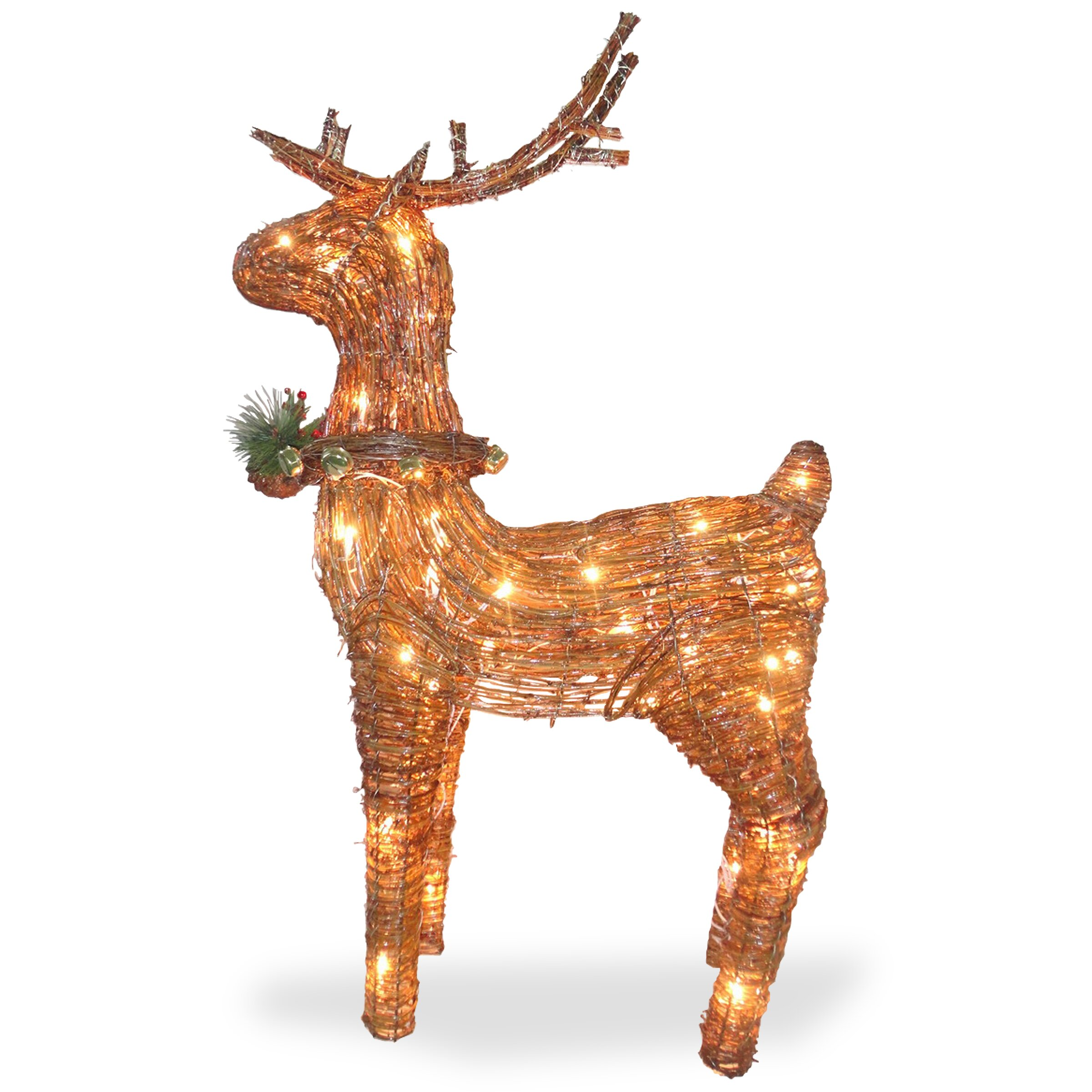 24 cute christmas trees ornaments and other decorations all for - Christmas Reindeer Decorations