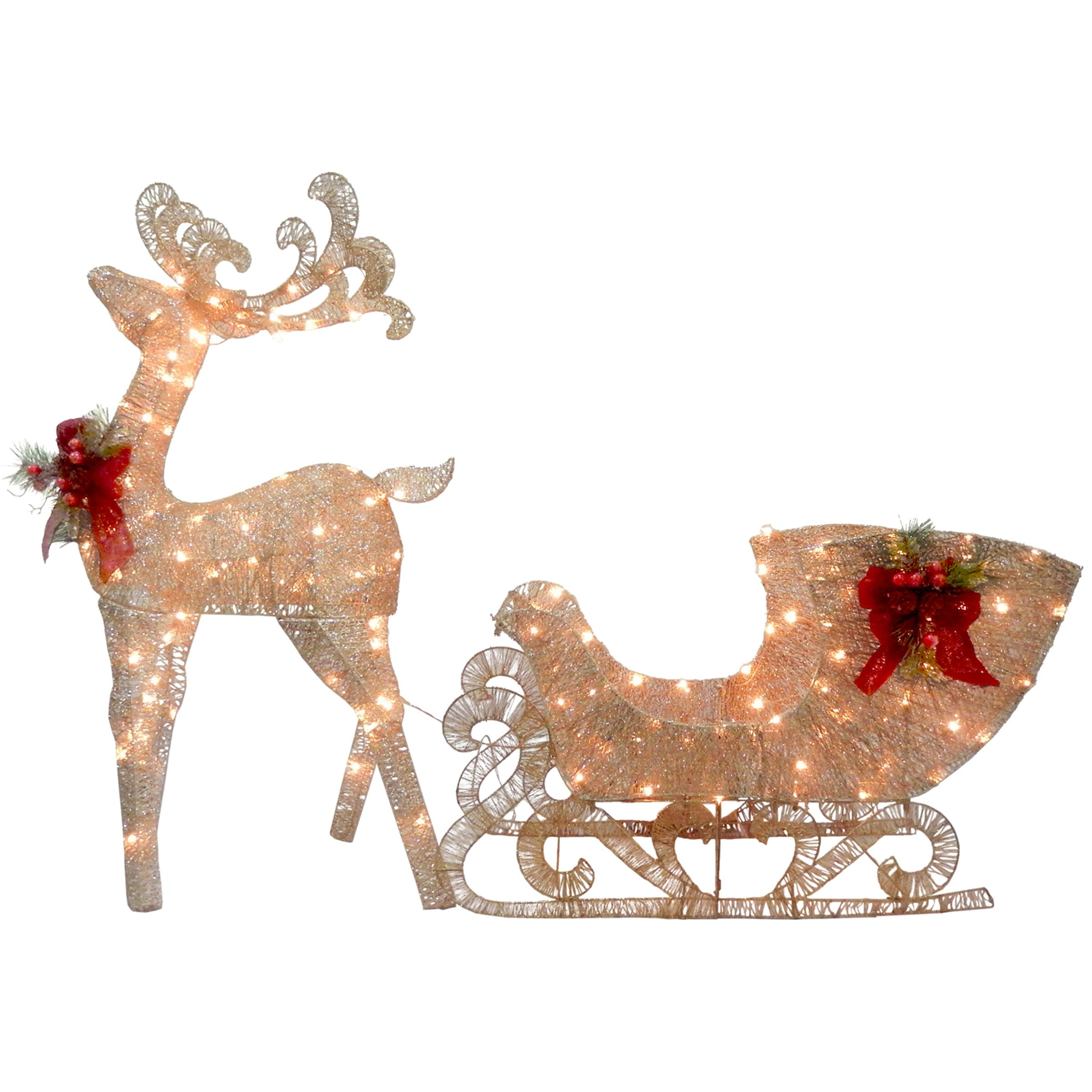 eclectic everyday christmas reindeer and angel wooden yard - Christmas Reindeer Decorations
