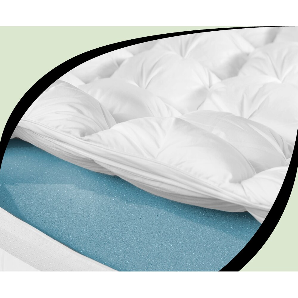 BioPEDIC Baffled Gel Infused and Down Alternative Mattress