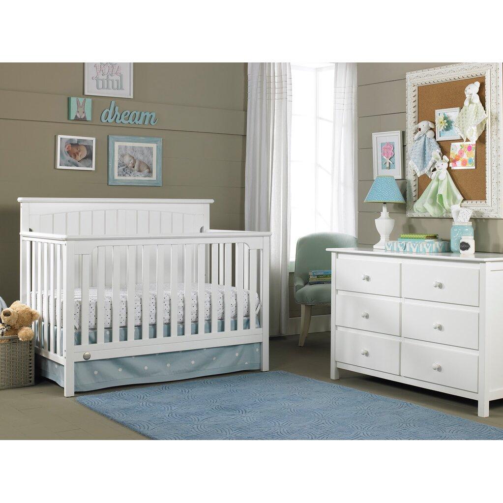 Crib price range - Fisher Price Colton 5 In 1 Convertible Crib