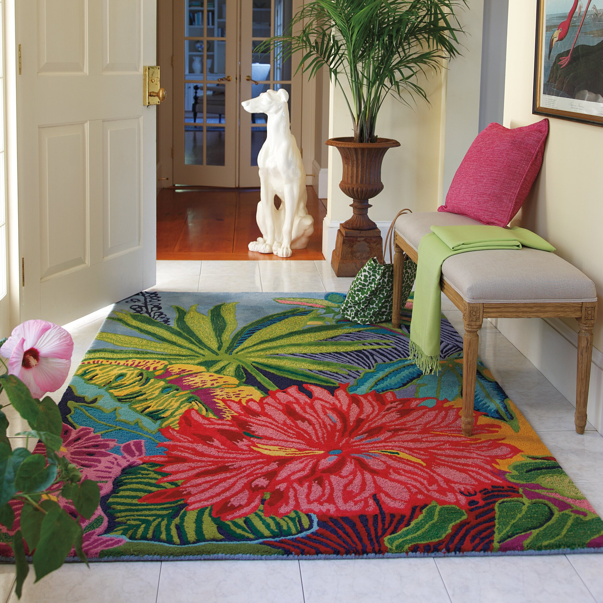 Red Living Room Rug Company C Captiva Green Red Area Rug Reviews Wayfair
