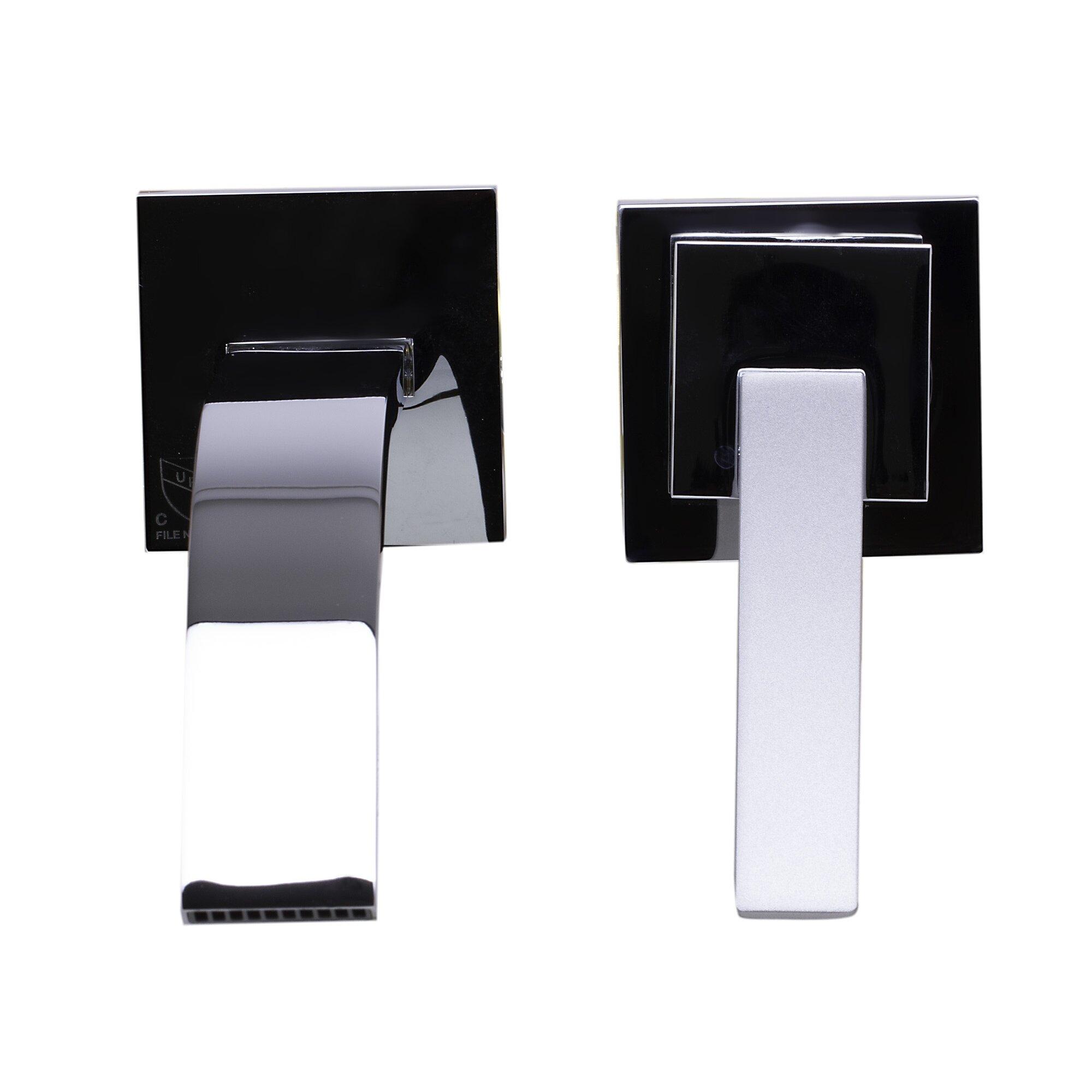 Wall Bathroom Faucet Alfi Brand Single Handle Wall Mounted Bathroom Faucet Reviews