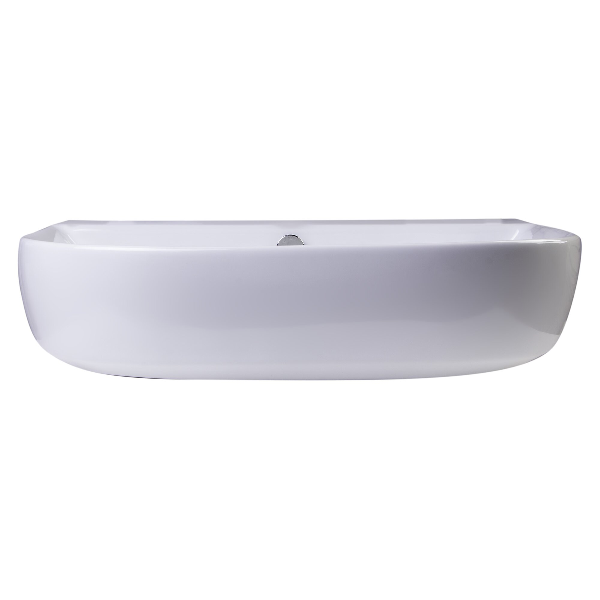 ... Bowl Porcelain Wall Mounted Bath Sink with Overflow by Alfi Brand
