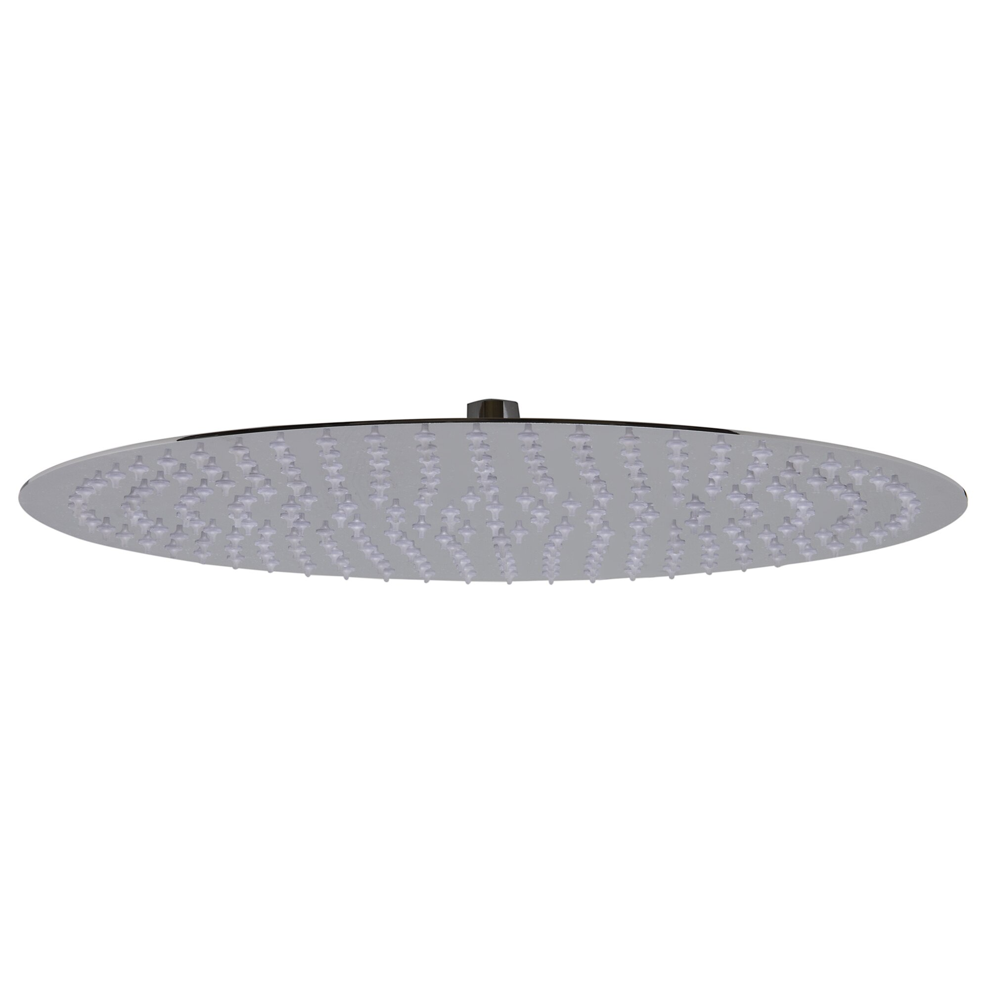 Alfi Brand  Round Ultra Thin Round Rain Shower Head  Reviews - Rain shower head with extension arm