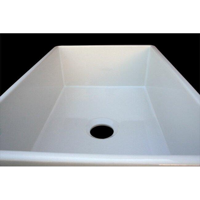"""alfi brand gillis ."""" x ."""" smooth farmhouse kitchen sink, Home decor"""