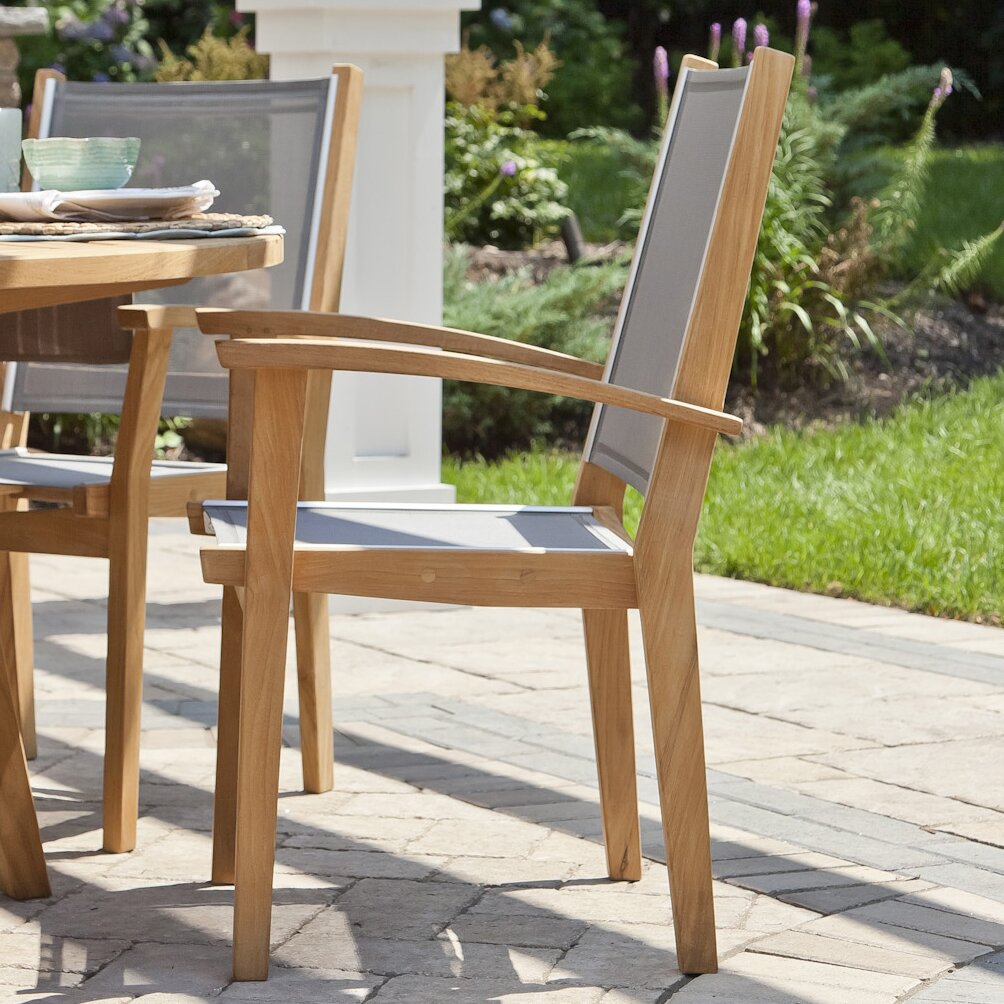 CO9 Design Bayhead Stacking Dining Arm Chair & Reviews