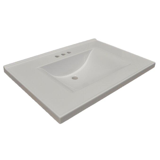 Marvelous Design House Contempo 26u0026quot; Single Bathroom Vanity Top
