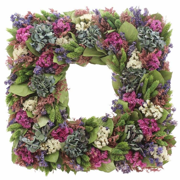 Floral Treasure Bliss Garden 17 Wreath Reviews Wayfair