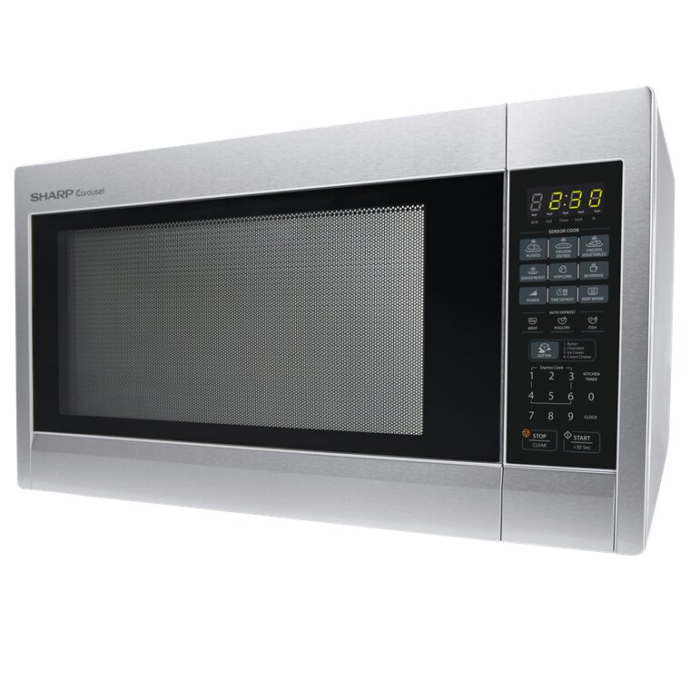 Sharp 2.2 Cu. Ft. 1200W Countertop Microwave