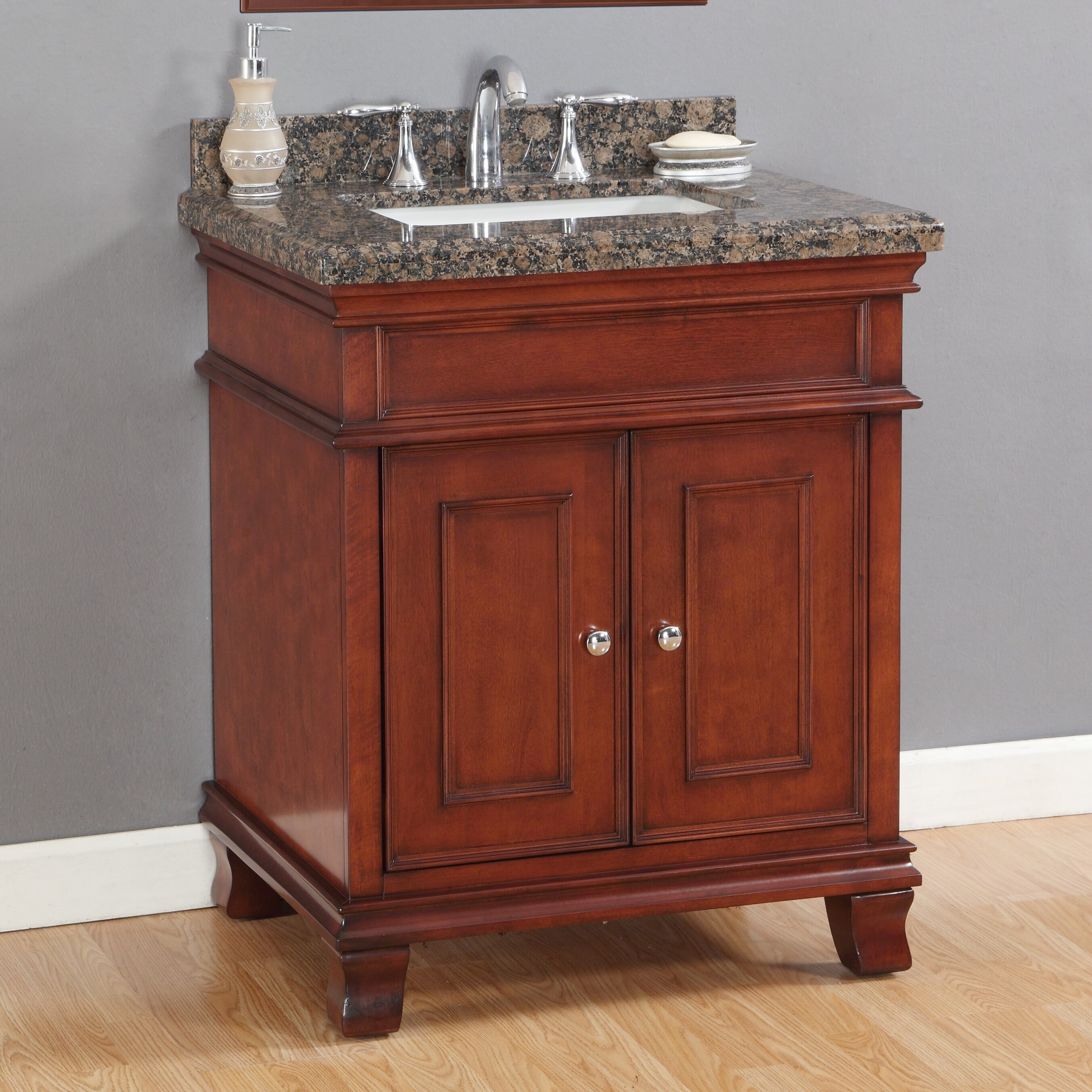 Mission hills rutherford 33 quot single vanity set amp reviews wayfair - Mission Hills Rutherford 33 Quot Single Vanity Set Amp Reviews Wayfair 2