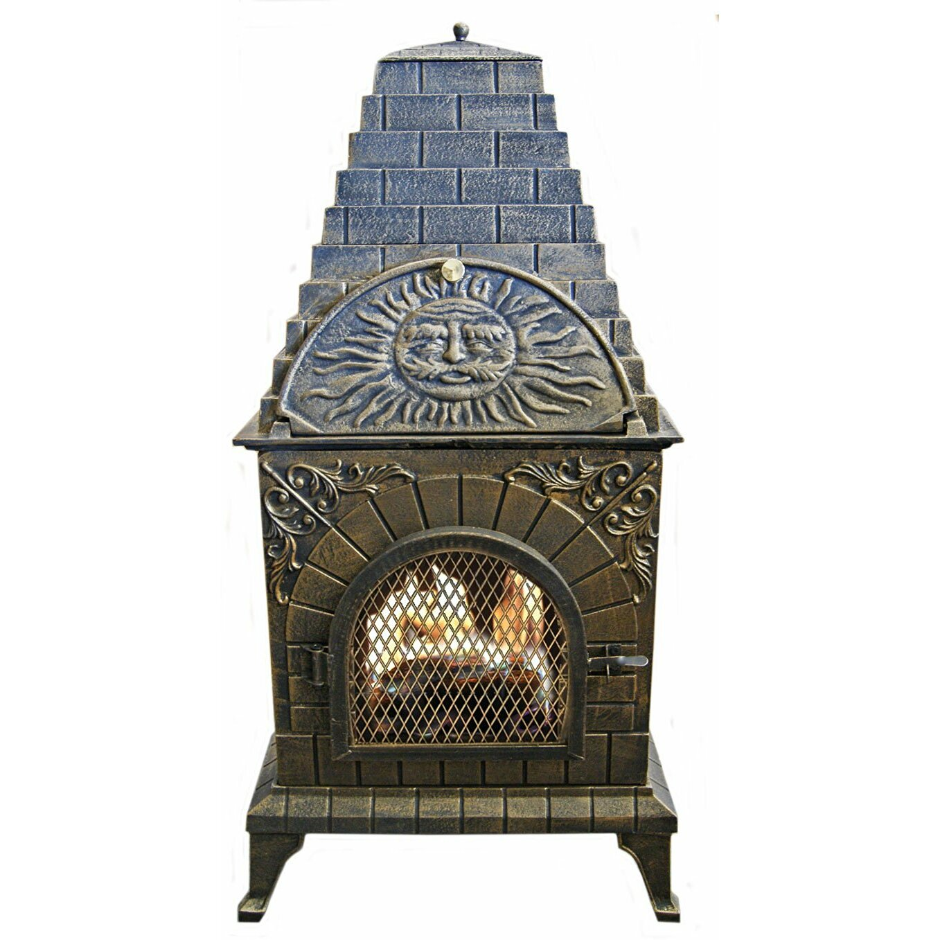 - Outdoor Fireplaces You'll Love Wayfair