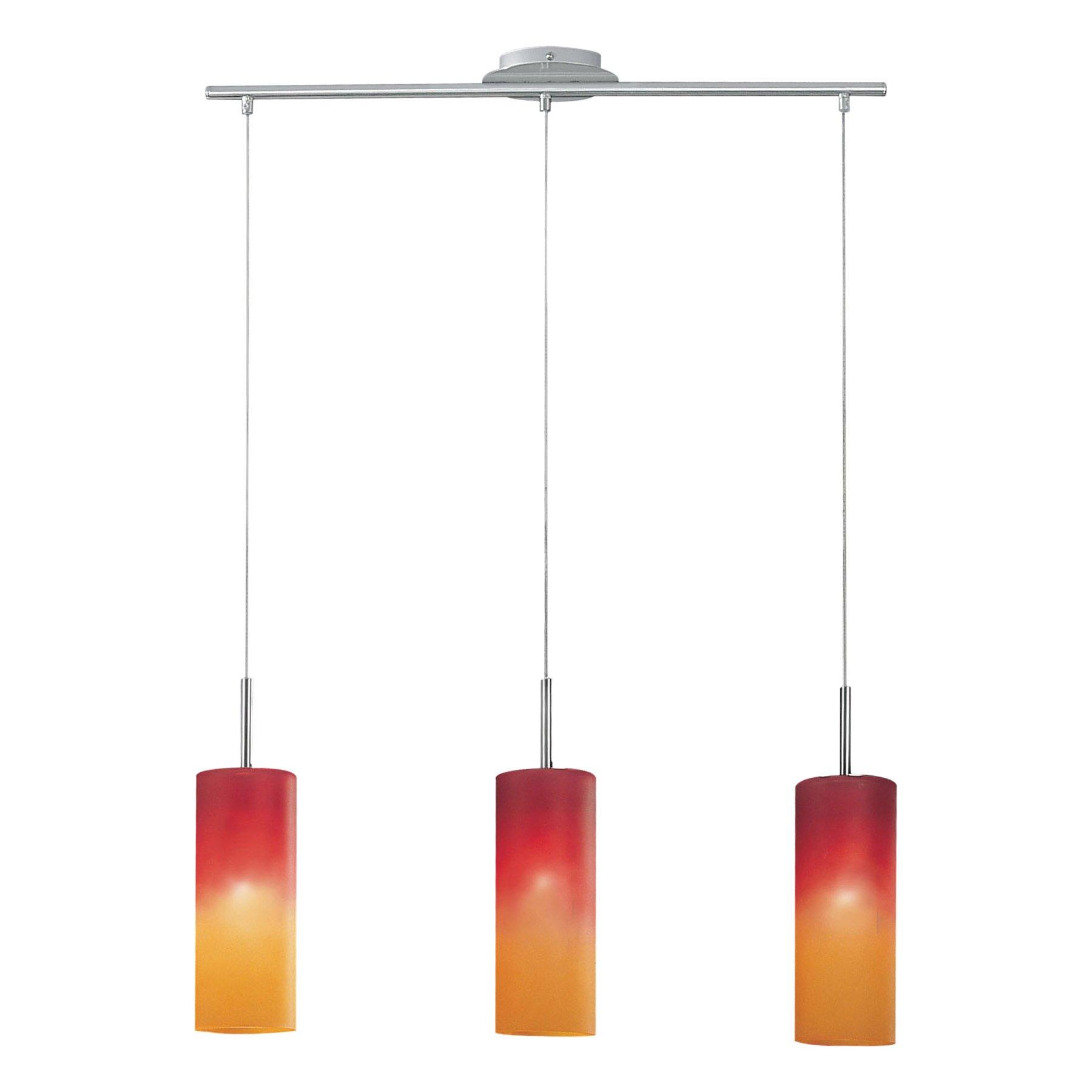 3 Light Pendant Island Kitchen Lighting Eglo Troy 1 3 Light Kitchen Island Pendant Reviews Wayfair