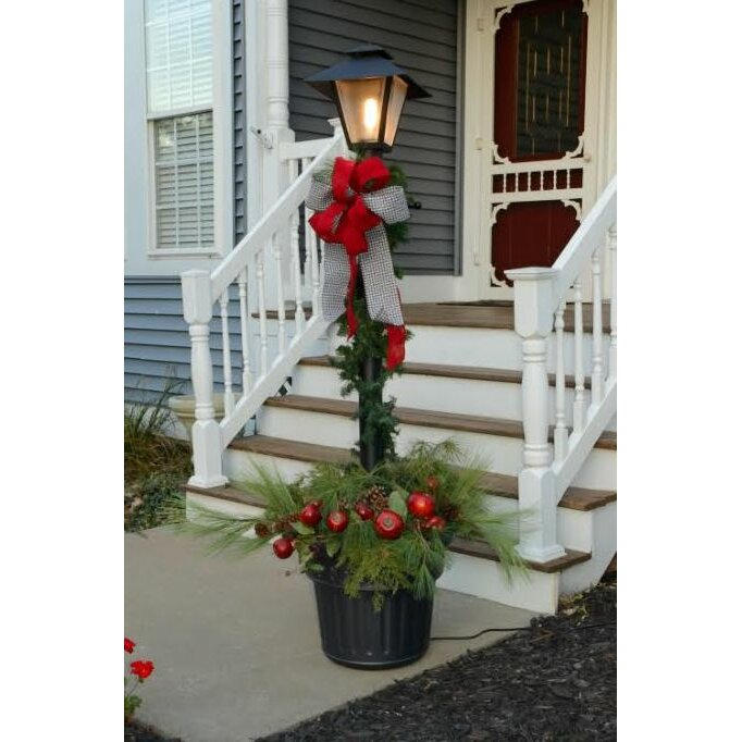 Patio living concepts cape cod outdoor 1 light 80 post for Outdoor lighting concepts