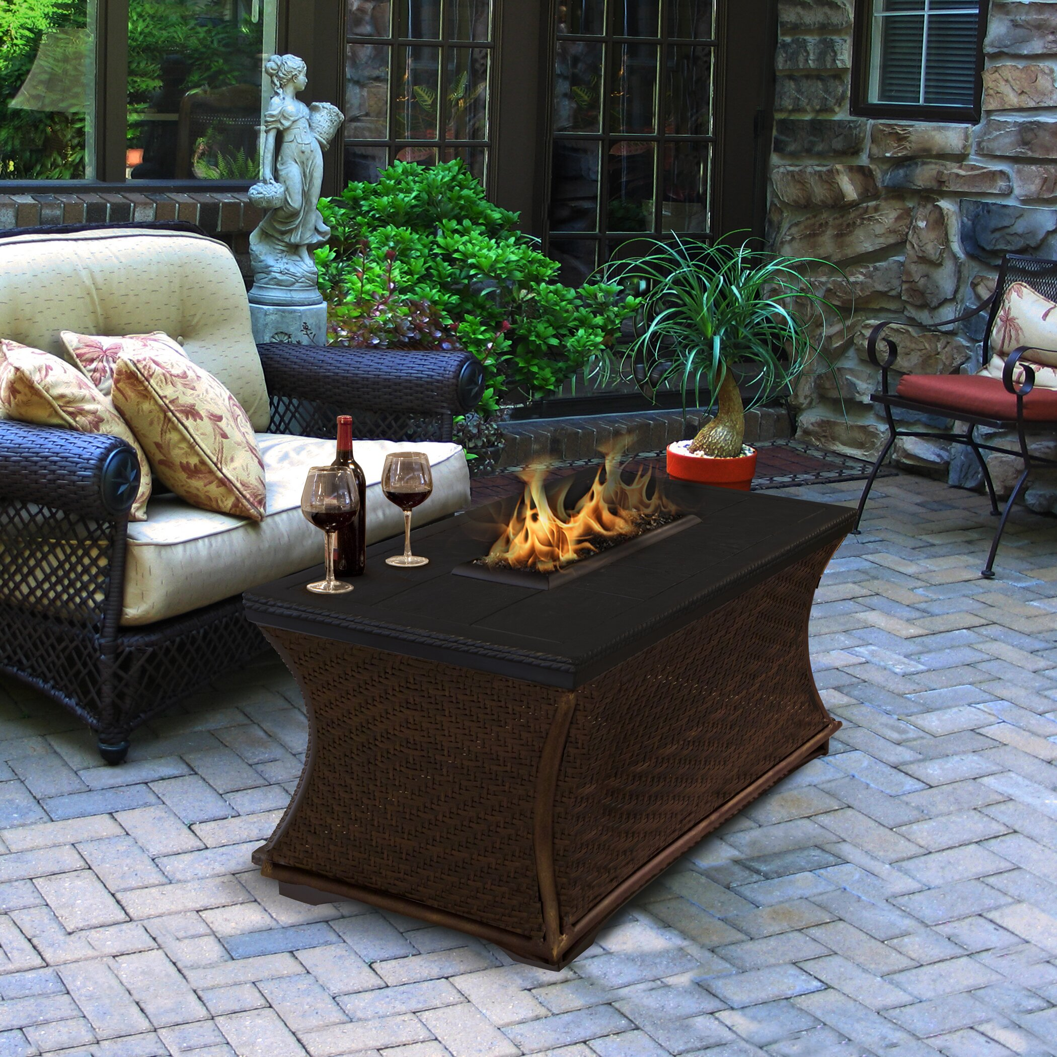 Propane Fireplace Outdoor .