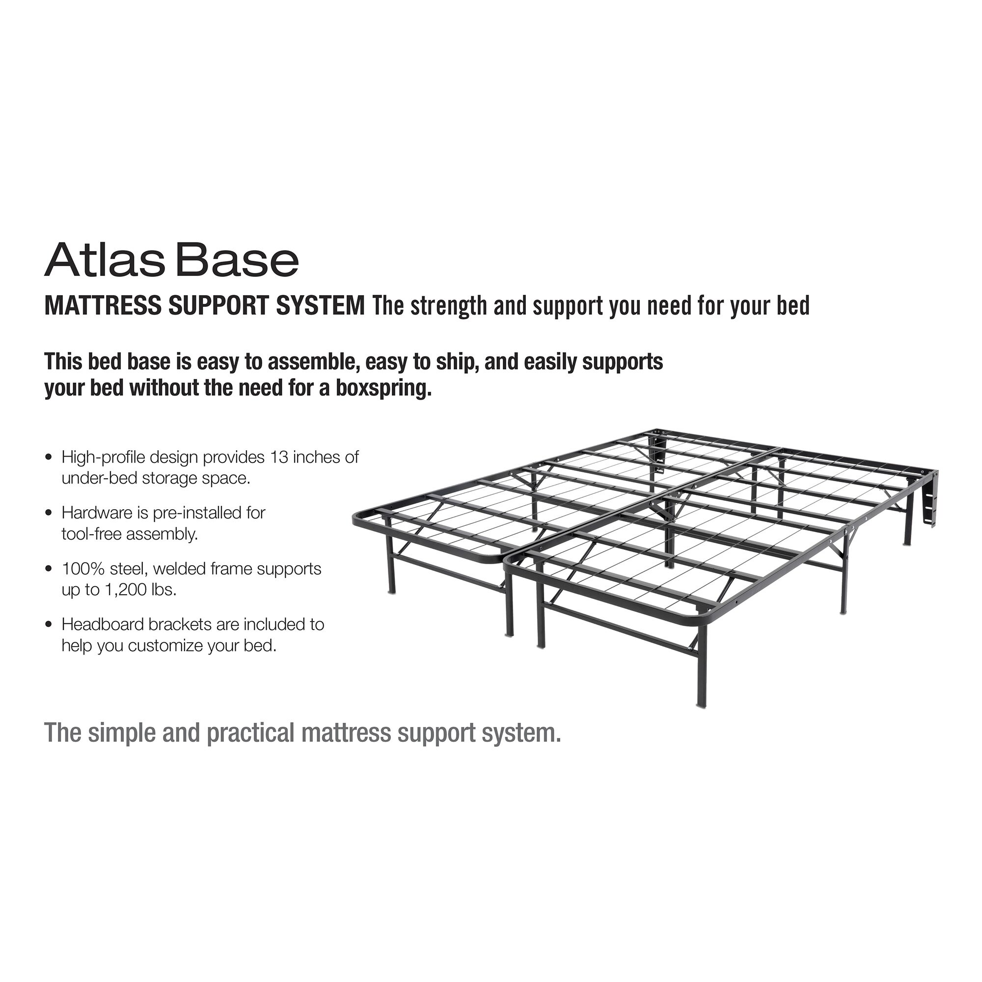 fashion bed group atlas bed frame