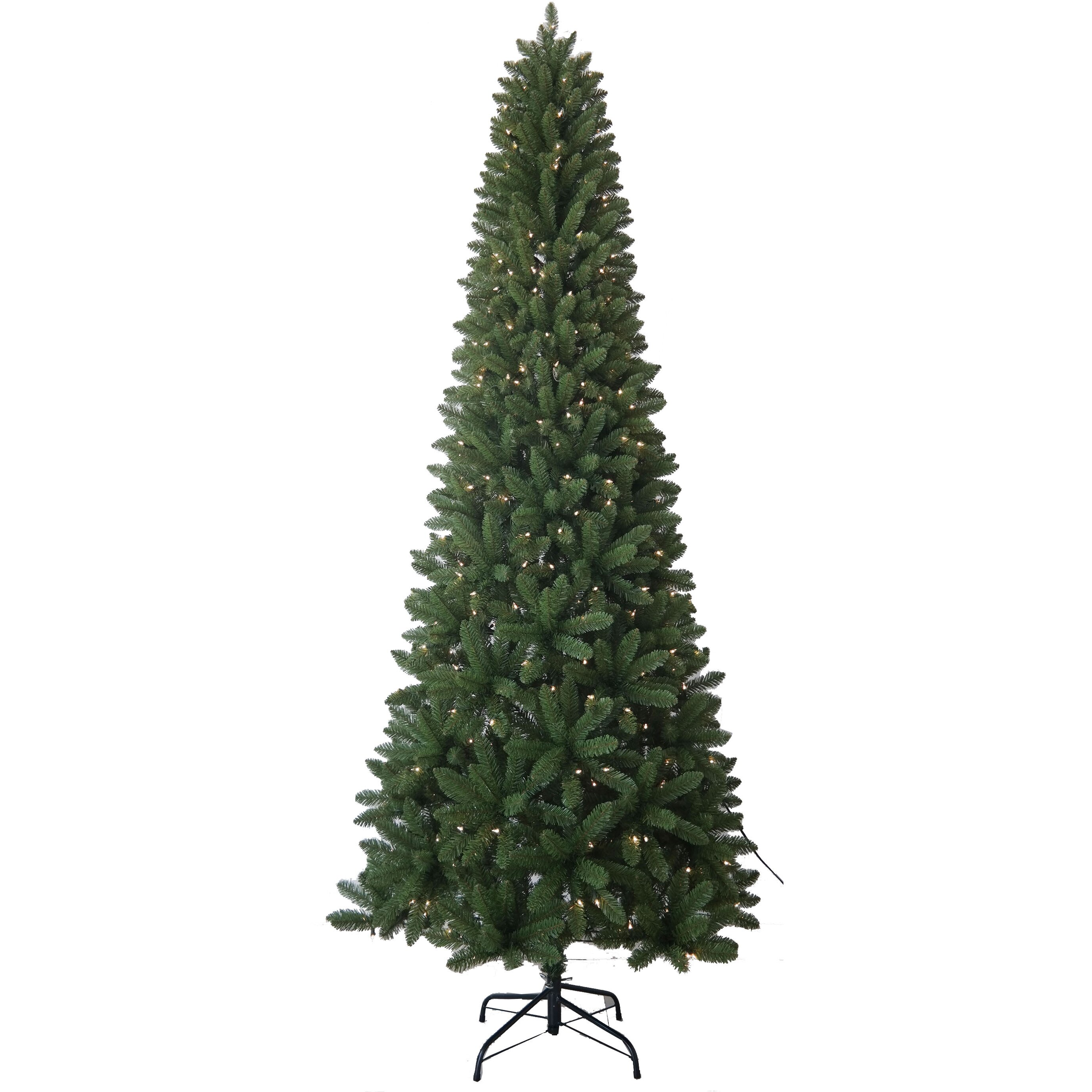 Santa 39 S Workshop 9 39 Slim Artificial Christmas Tree With