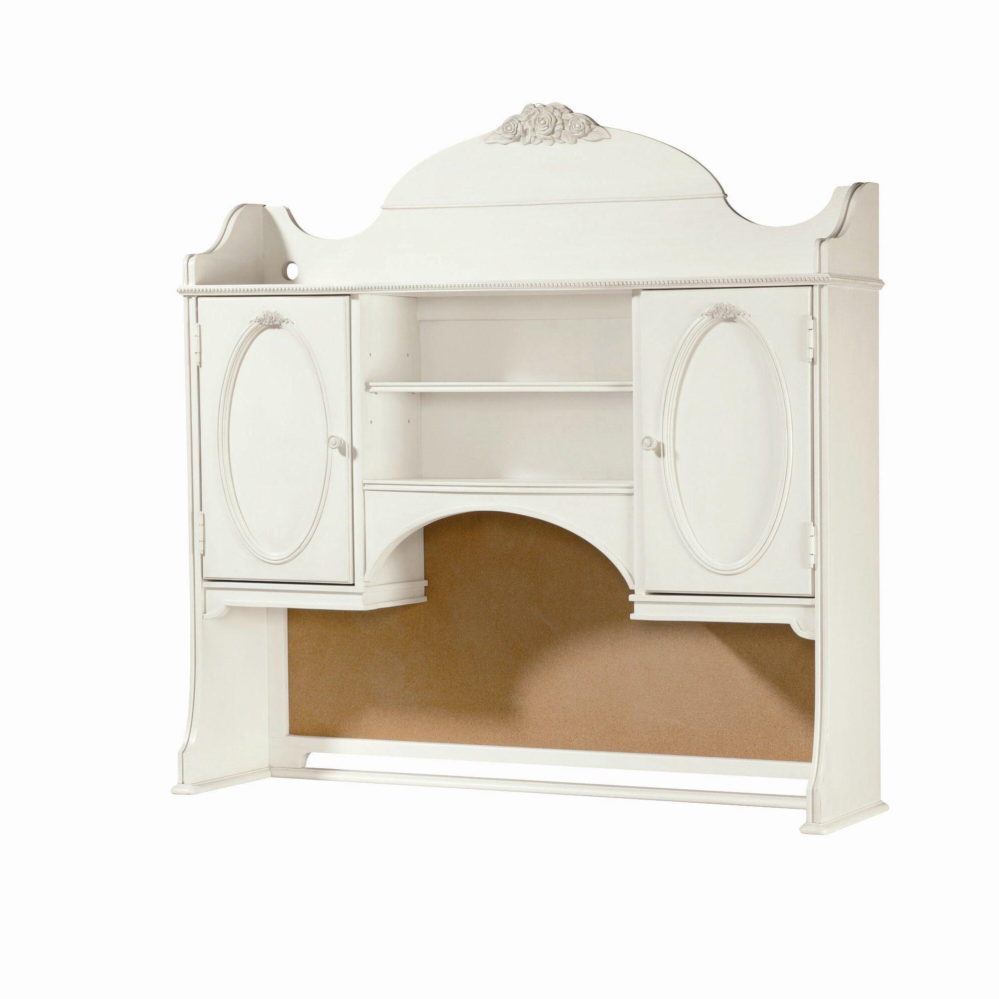 Smartstuff Furniture Gabriella Vanity Desk With Hutch