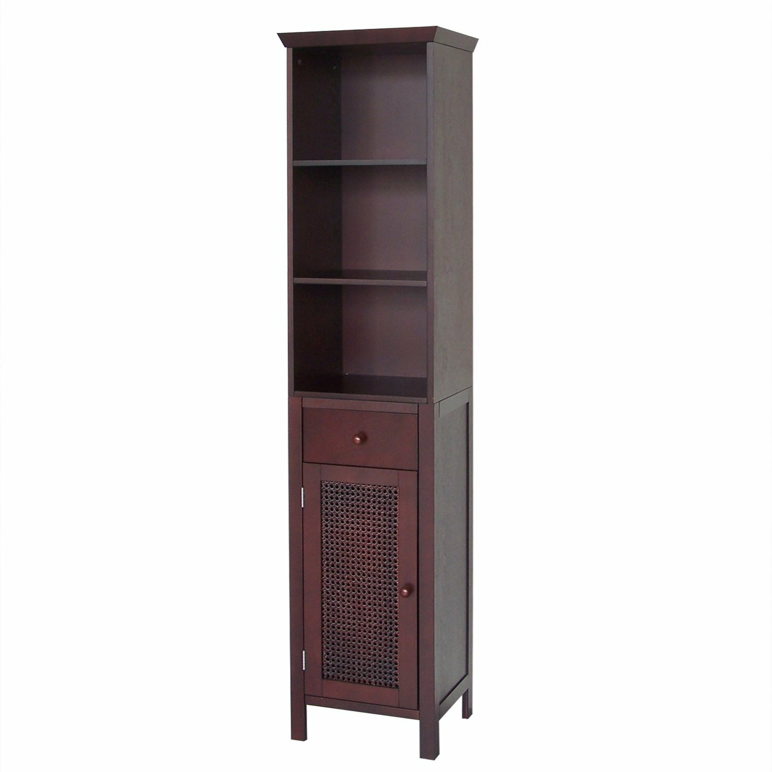 Cane 15 quot  W x 65 quot  H Linen Tower. Linen Cabinets  amp  Towers You  39 ll Love   Wayfair