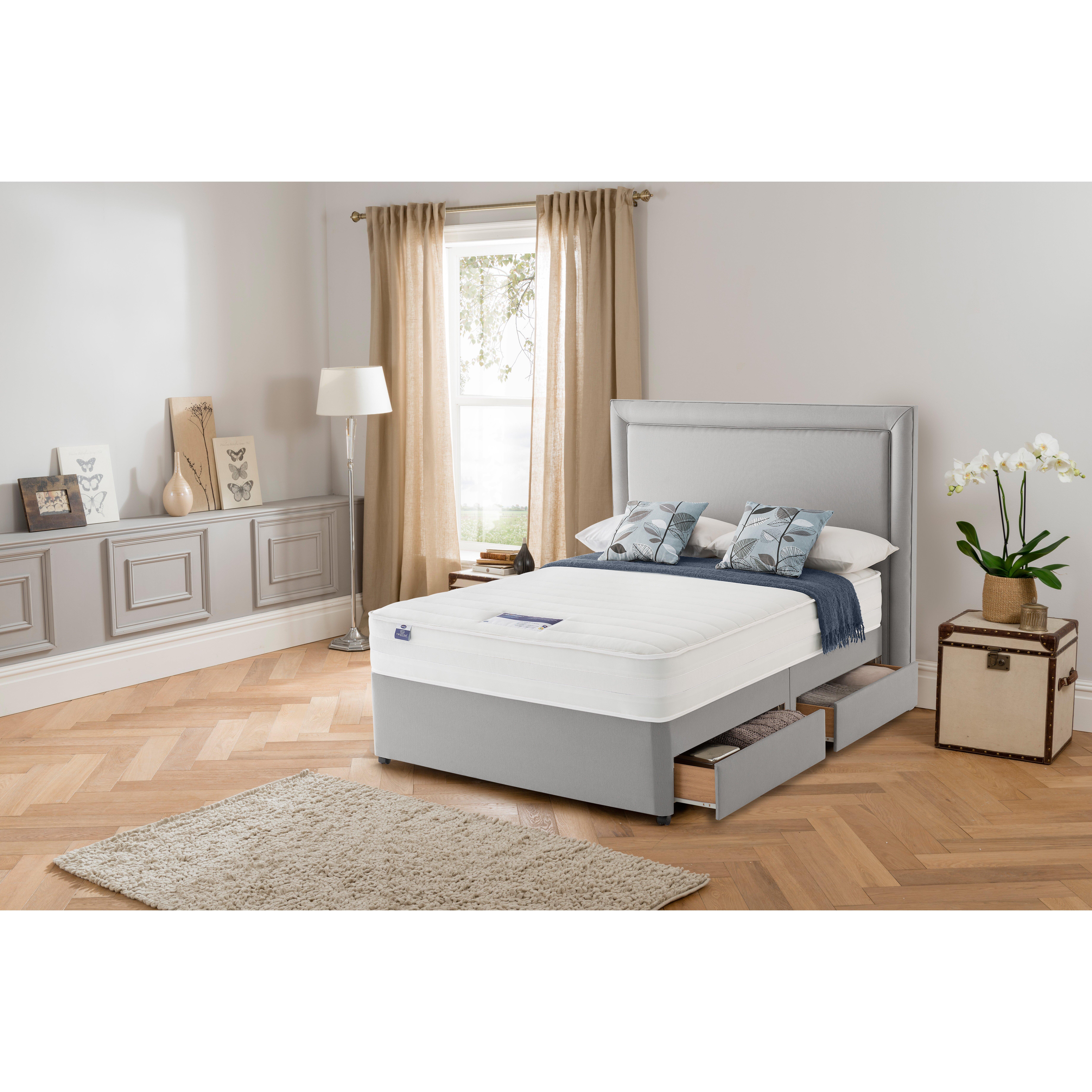Silentnight Ashley Memory Foam Divan Bed Reviews