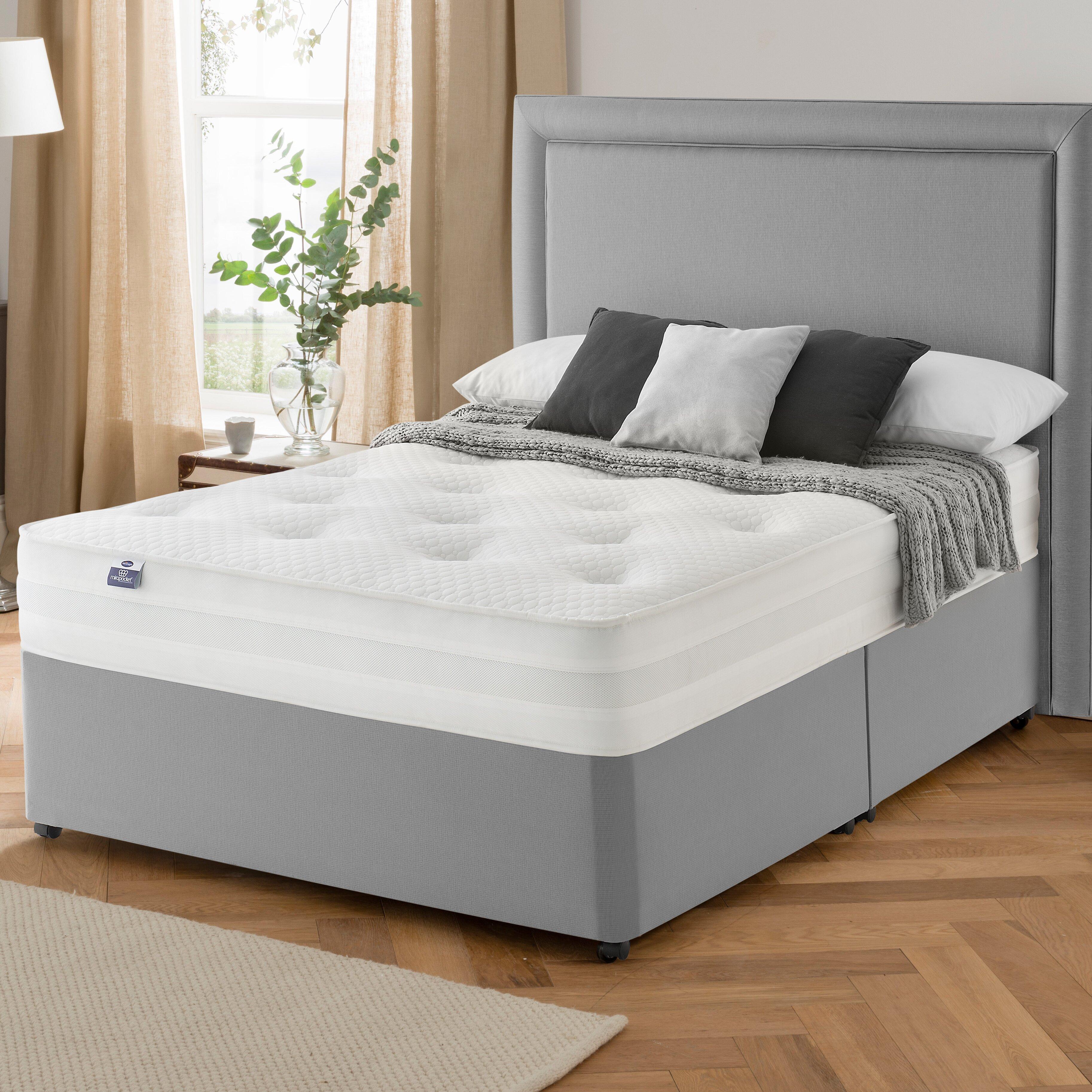 silentnight maria pocket memory divan bed. Black Bedroom Furniture Sets. Home Design Ideas