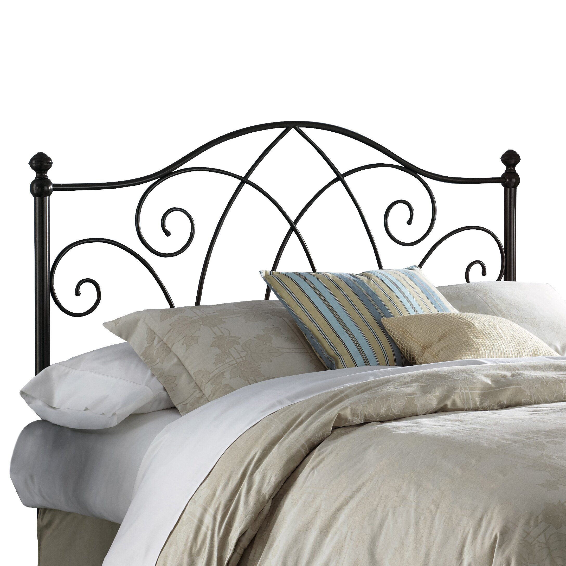 Metal headboard bed frame - Fashion Bed Group Deland Open Frame Headboard
