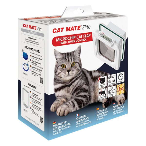 Microchip Cat Flap With Timer Control