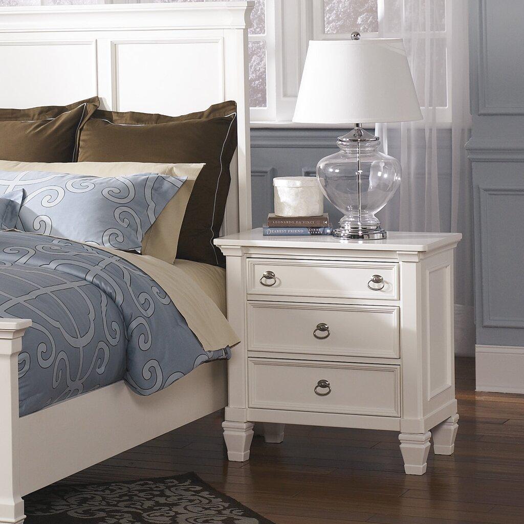 Prentice Bedroom Set Ashley Furniture Signature Design By Ashley Prentice Nightstand Reviews Wayfair