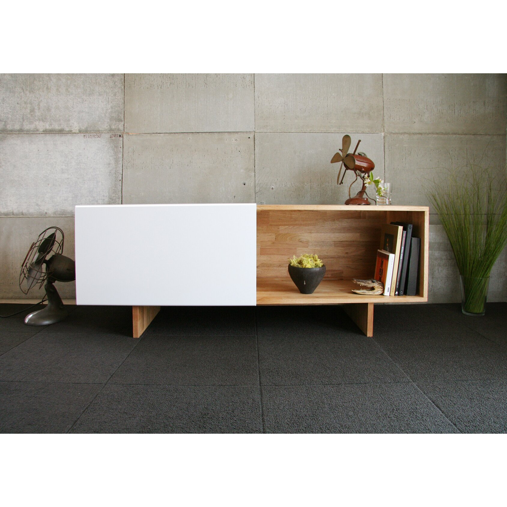 Lax series tv stand reviews allmodern for Mash studios lax