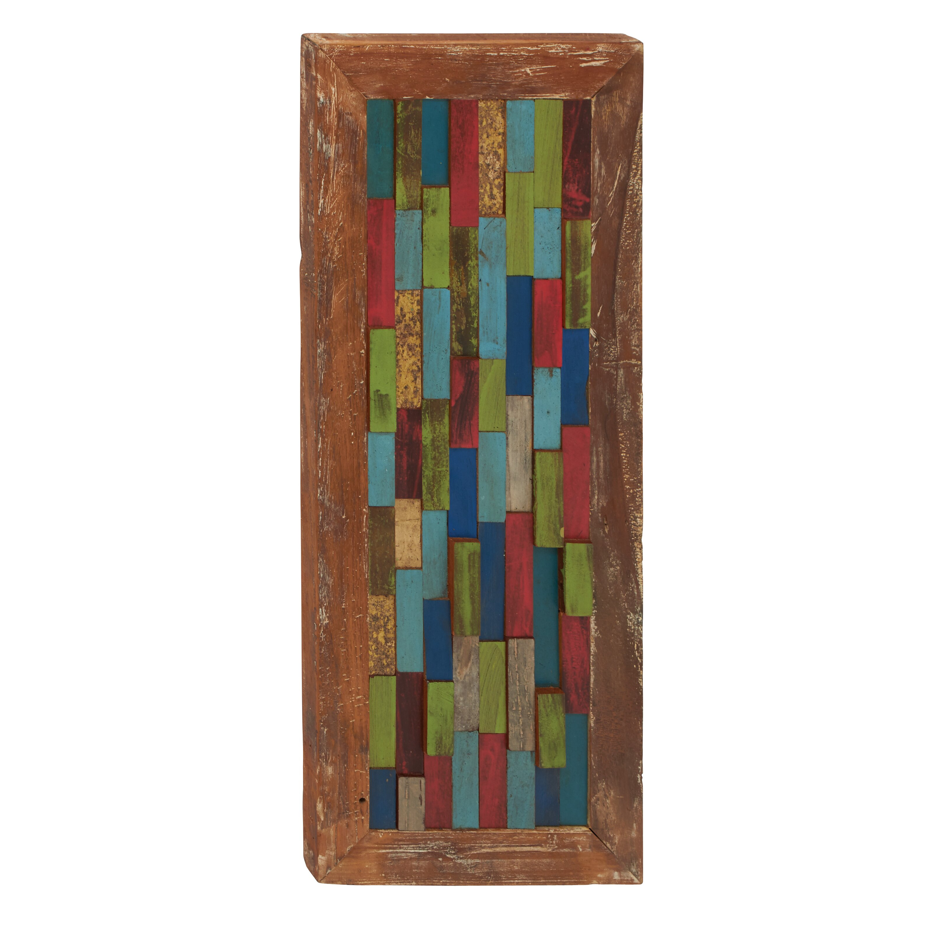 Panel Wall D Cor By Woodland Imports: Woodland Imports Simply Beautiful Panel Wall Décor