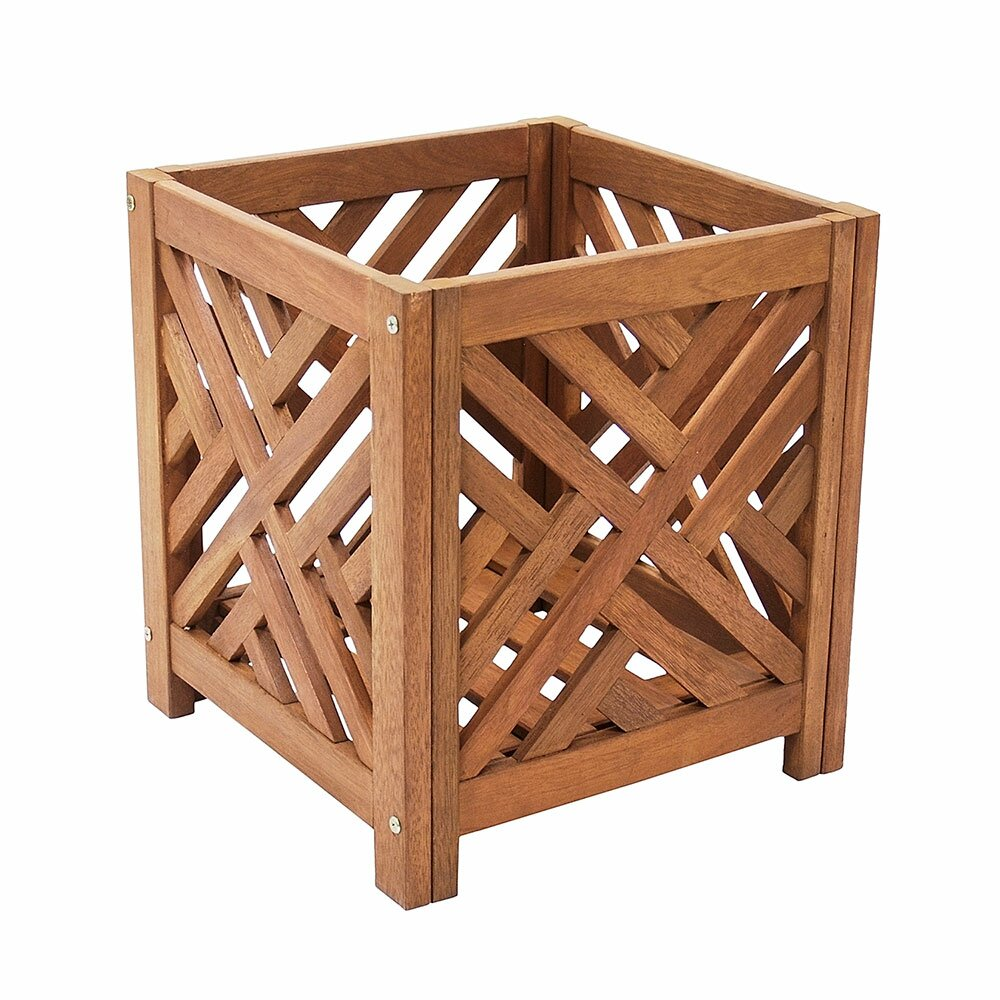 Achla fretwork wood planter box for Wayfair garden box