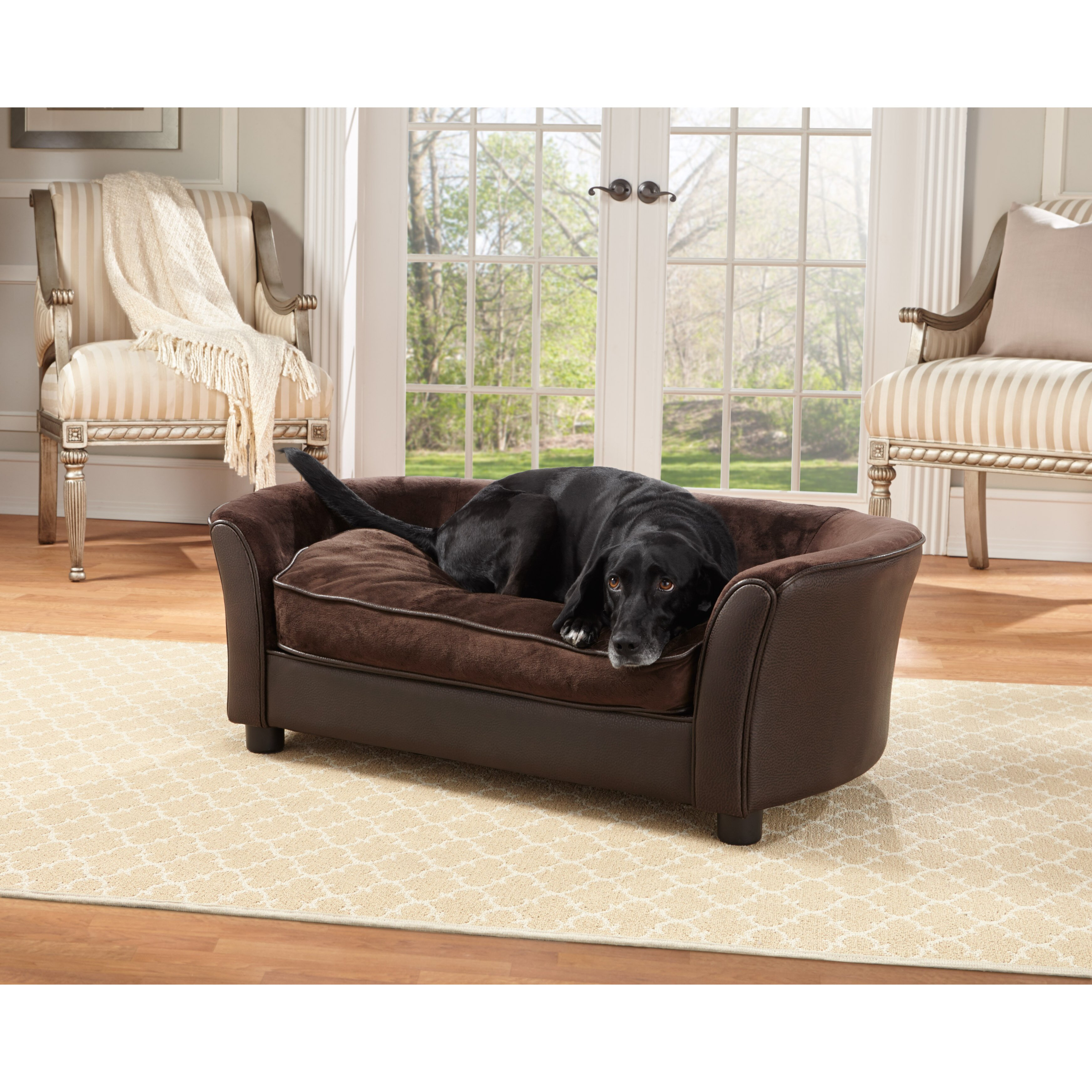 new Enchanted Home Pet Snuggle Pet Sofa Bed zapovednoe cafe