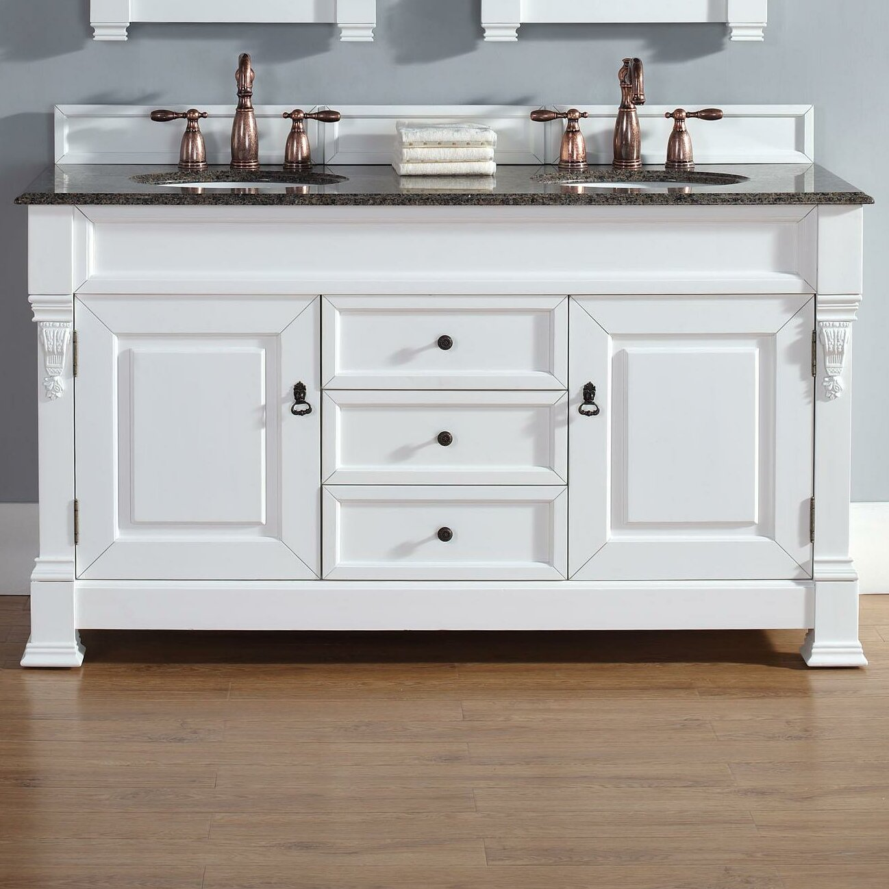 white cottage bathroom vanity martin furniture brookfield 60 quot cottage white 21519