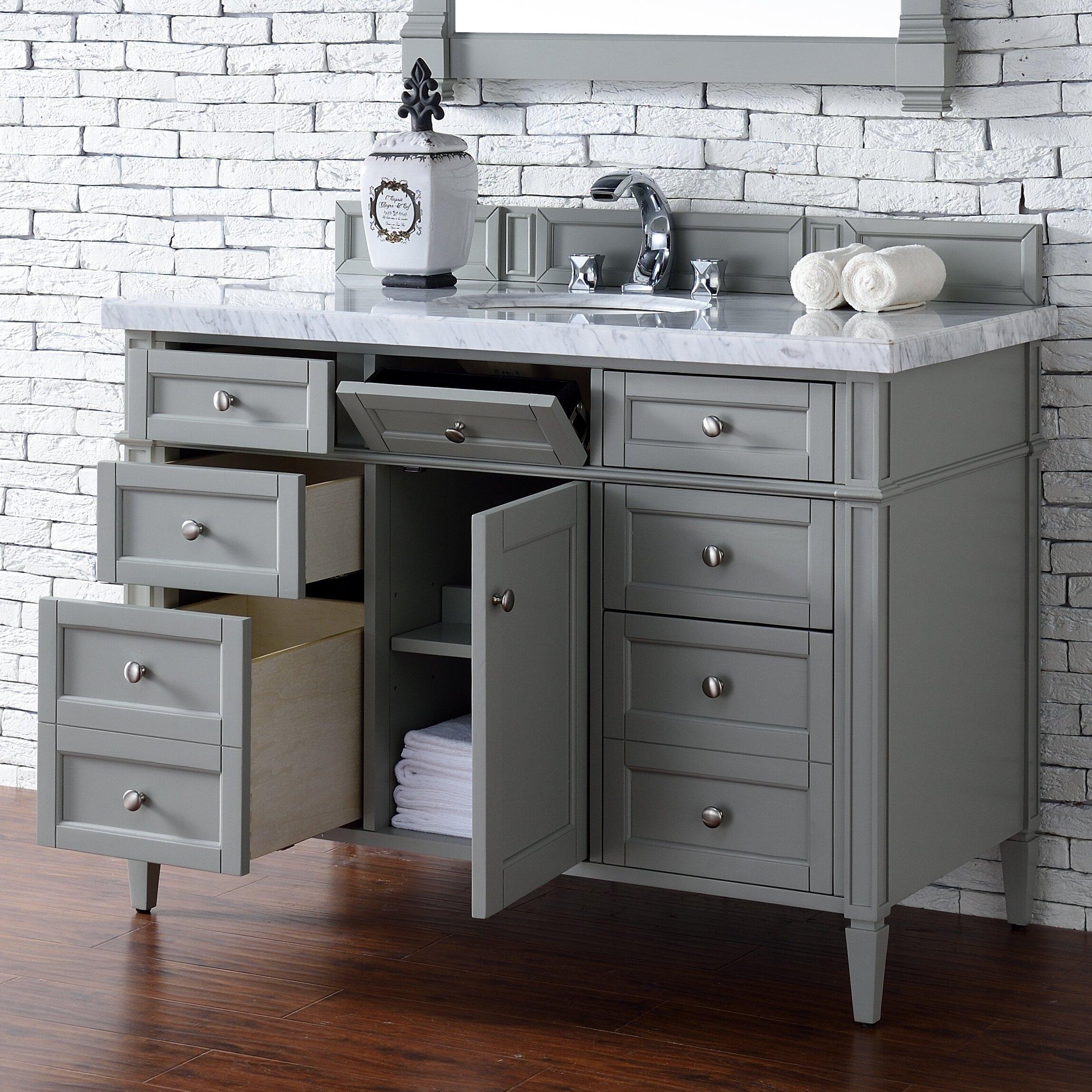 Angel 48 Single Bathroom Vanity Set Joss Main
