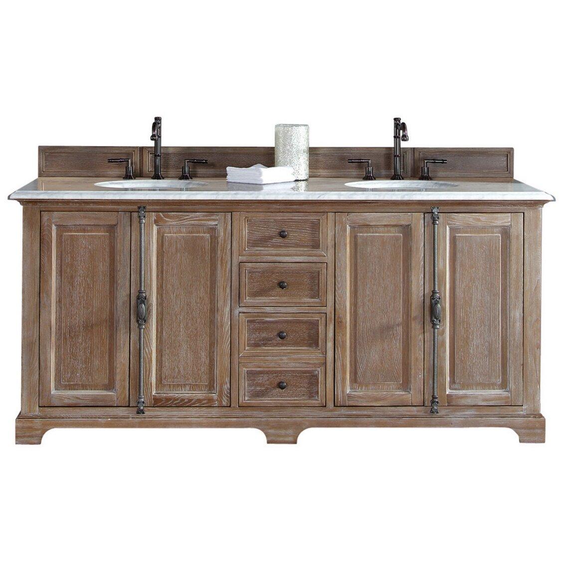 Driftwood Bathroom Vanity James Martin Furniture Providence 72 Double Driftwood Bathroom