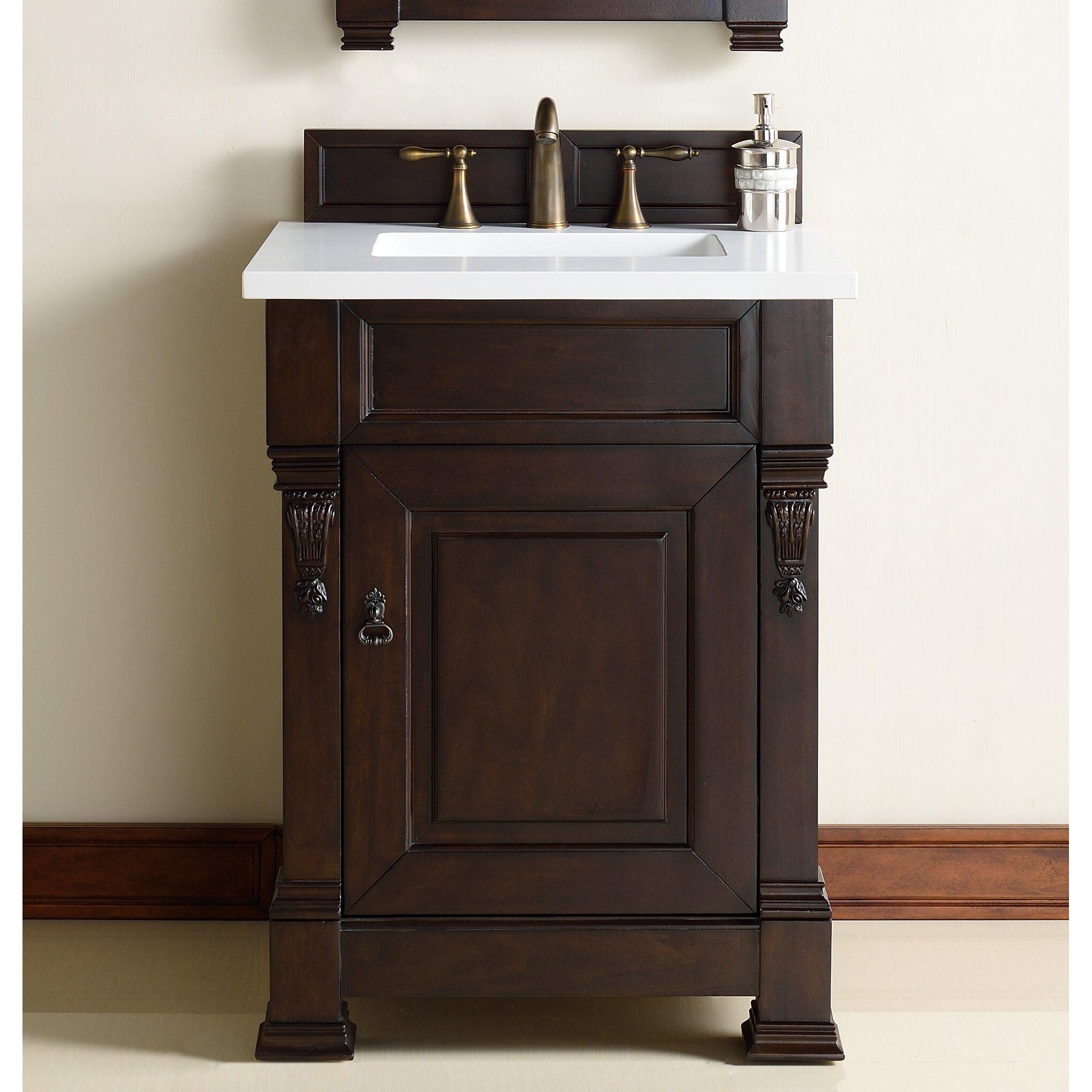 Bathroom Vanity Base James Martin Furniture Brookfield 26 Single Bathroom Vanity Base