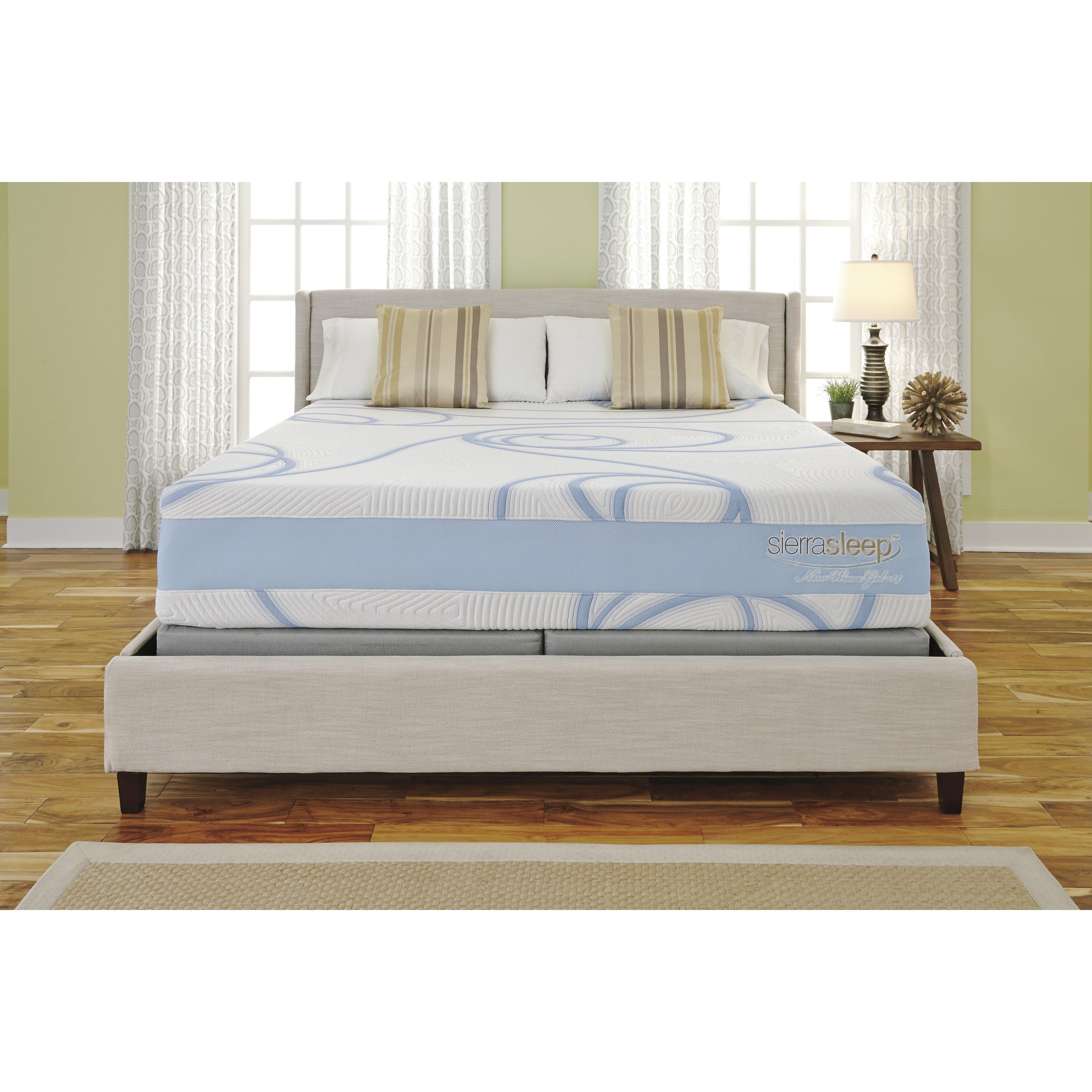 sierra sleep split king boxspring reviews. Black Bedroom Furniture Sets. Home Design Ideas